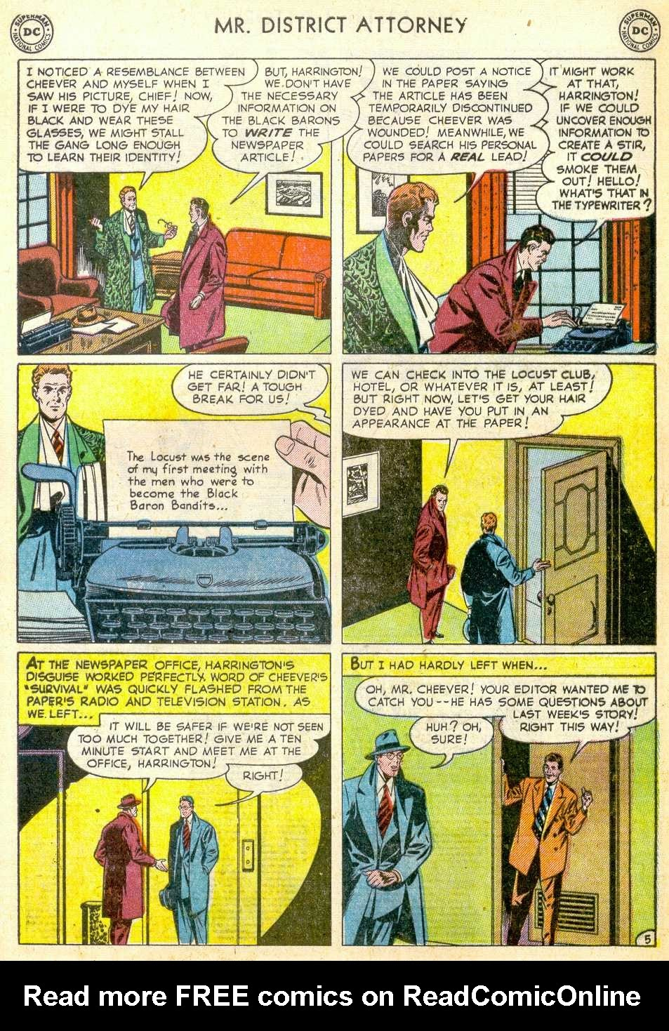 Mr. District Attorney issue 23 - Page 7