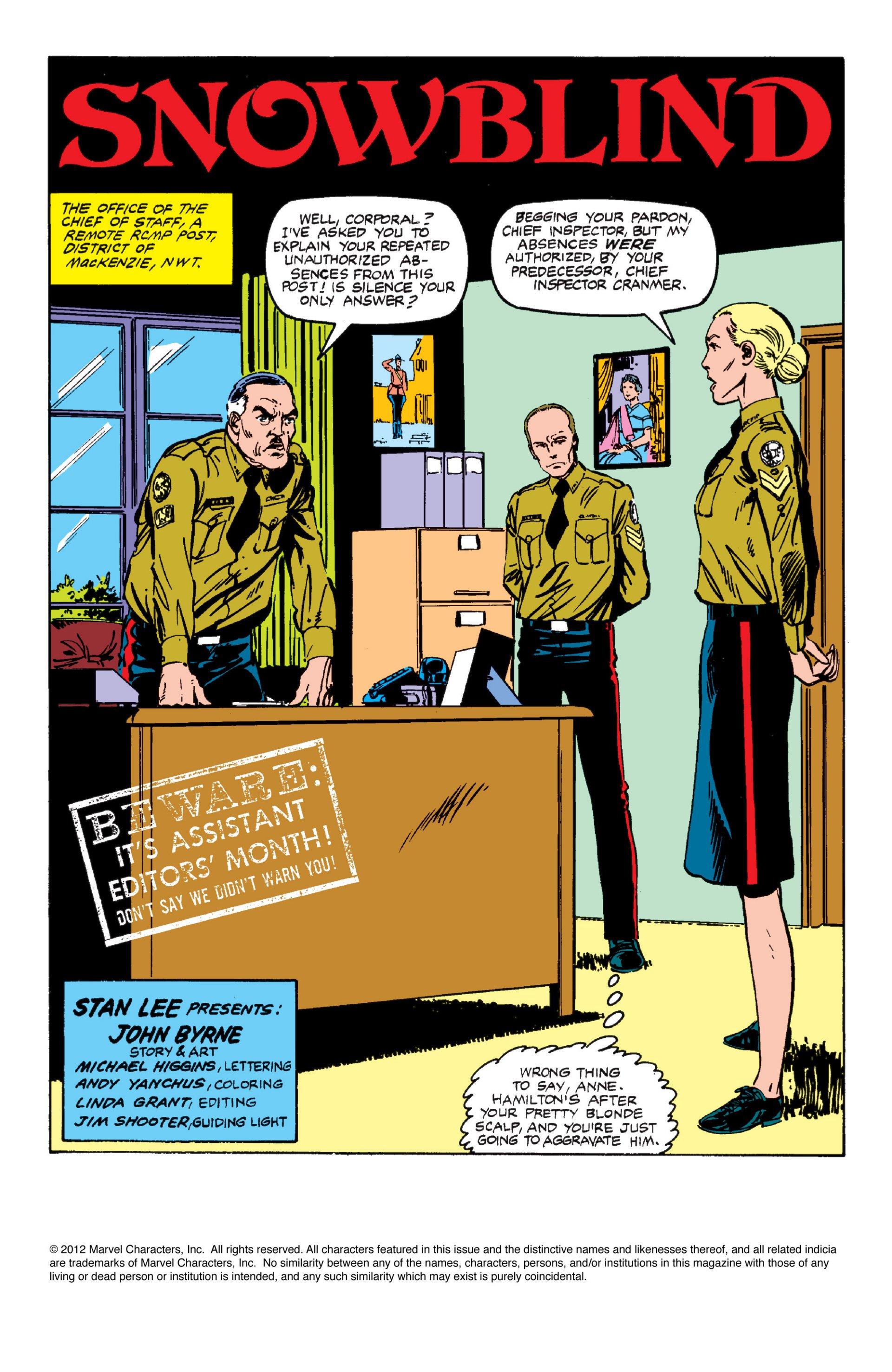 Read online Alpha Flight (1983) comic -  Issue #6 - 2