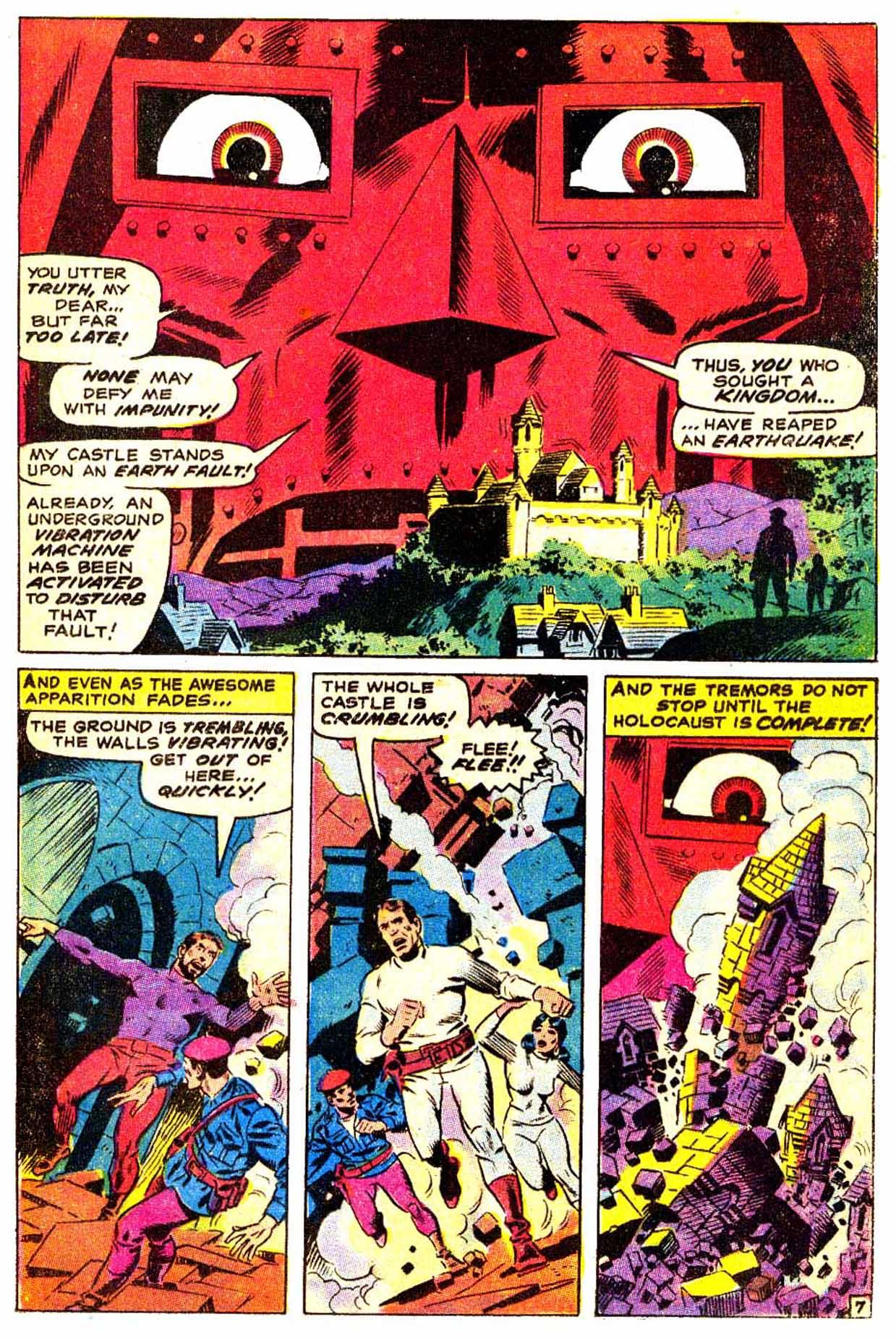 Read online Astonishing Tales (1970) comic -  Issue #3 - 8