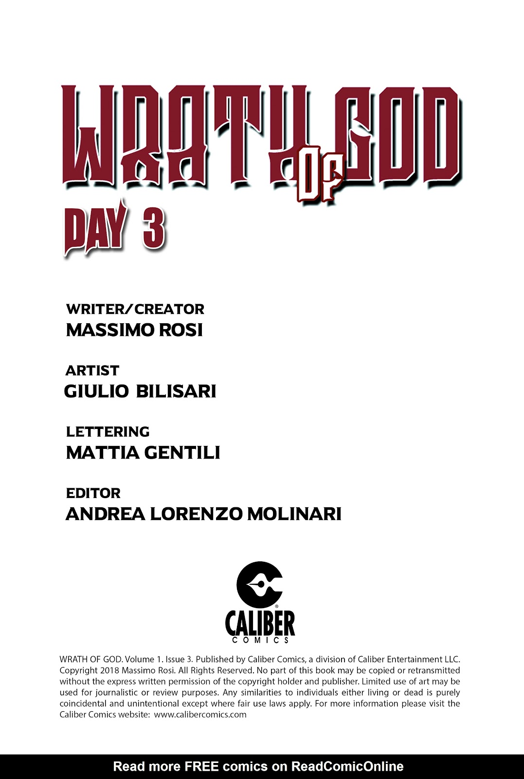 Read online Wrath of God comic -  Issue #3 - 2
