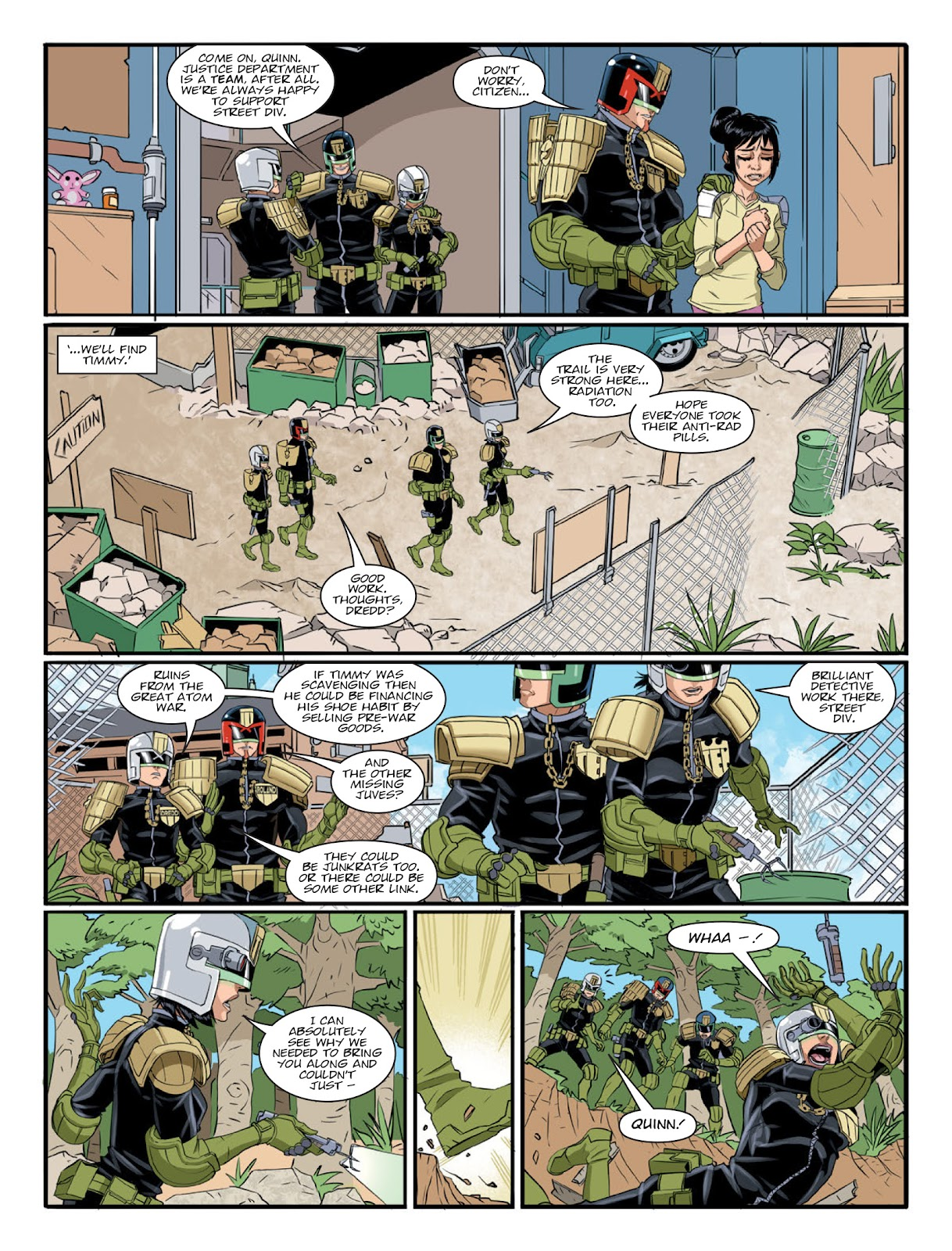 2000 AD issue 2220 - Page 5
