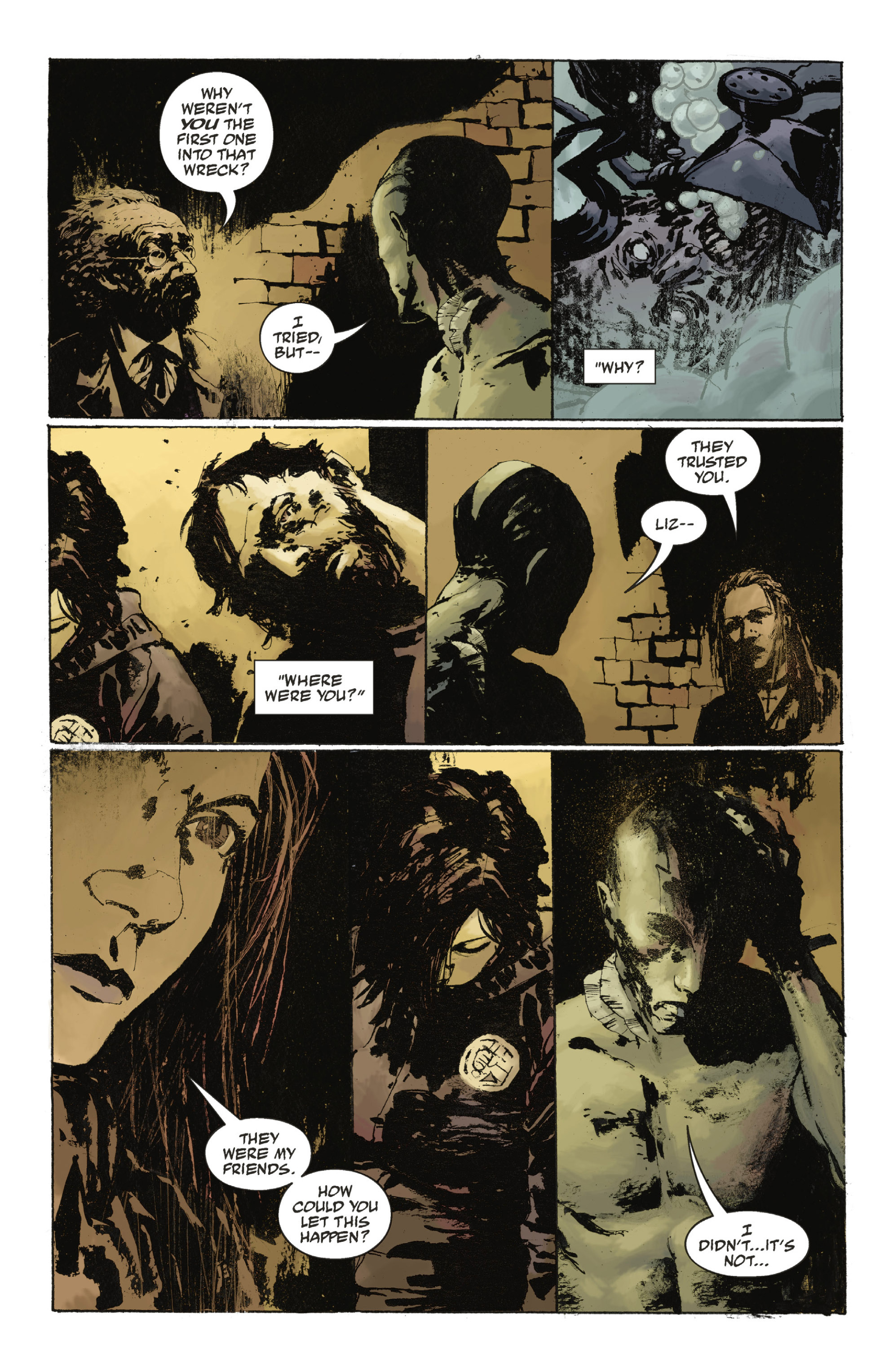 Read online Abe Sapien: The Drowning comic -  Issue #Abe Sapien: The Drowning _TPB - 53