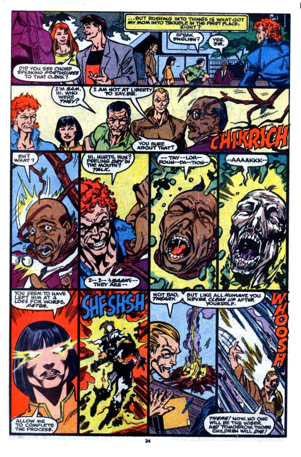 The New Warriors Issue #7 #11 - English 18