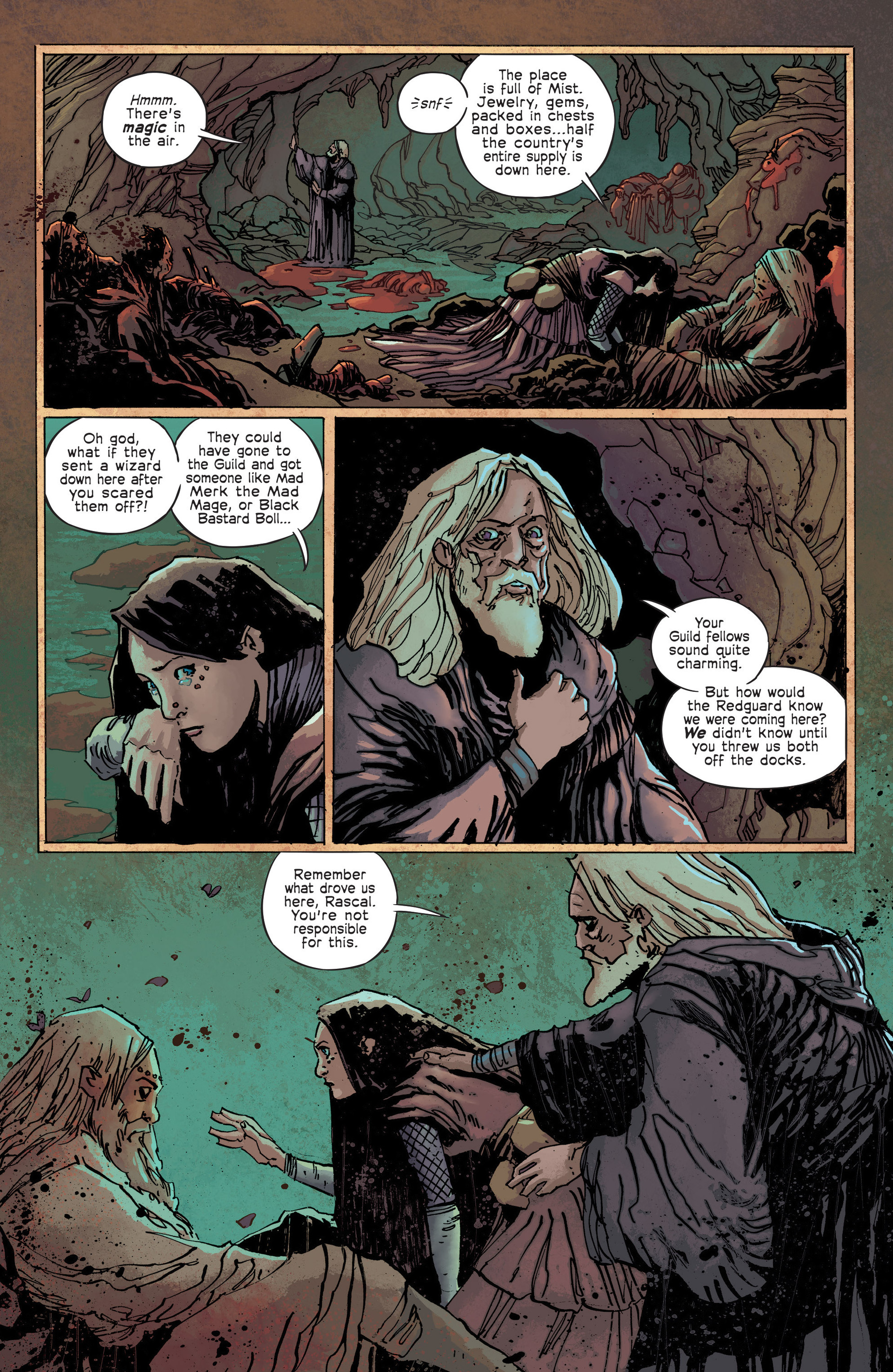 Read online Umbral comic -  Issue #3 - 7