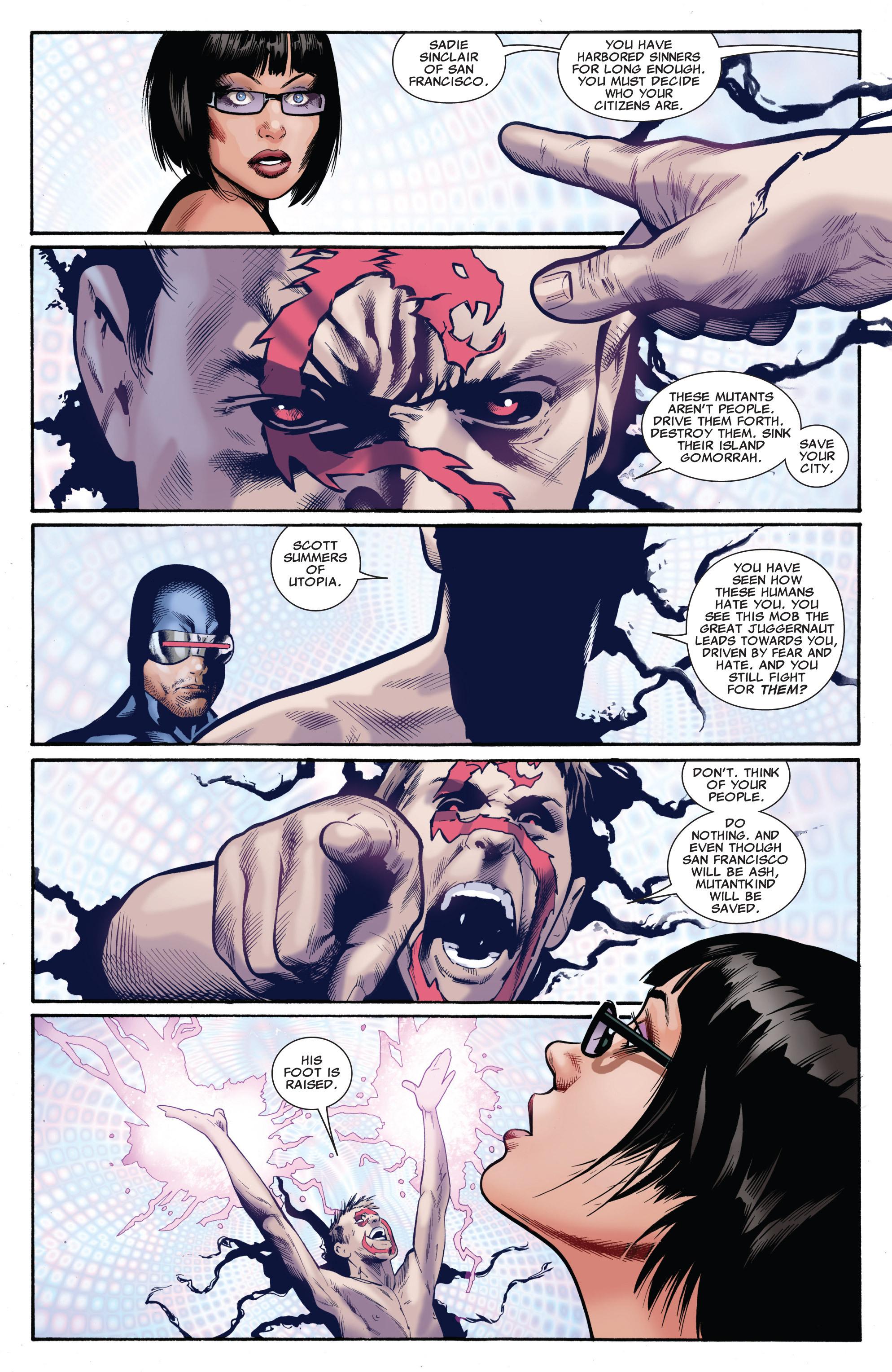 Read online Uncanny X-Men (1963) comic -  Issue #541 - 22