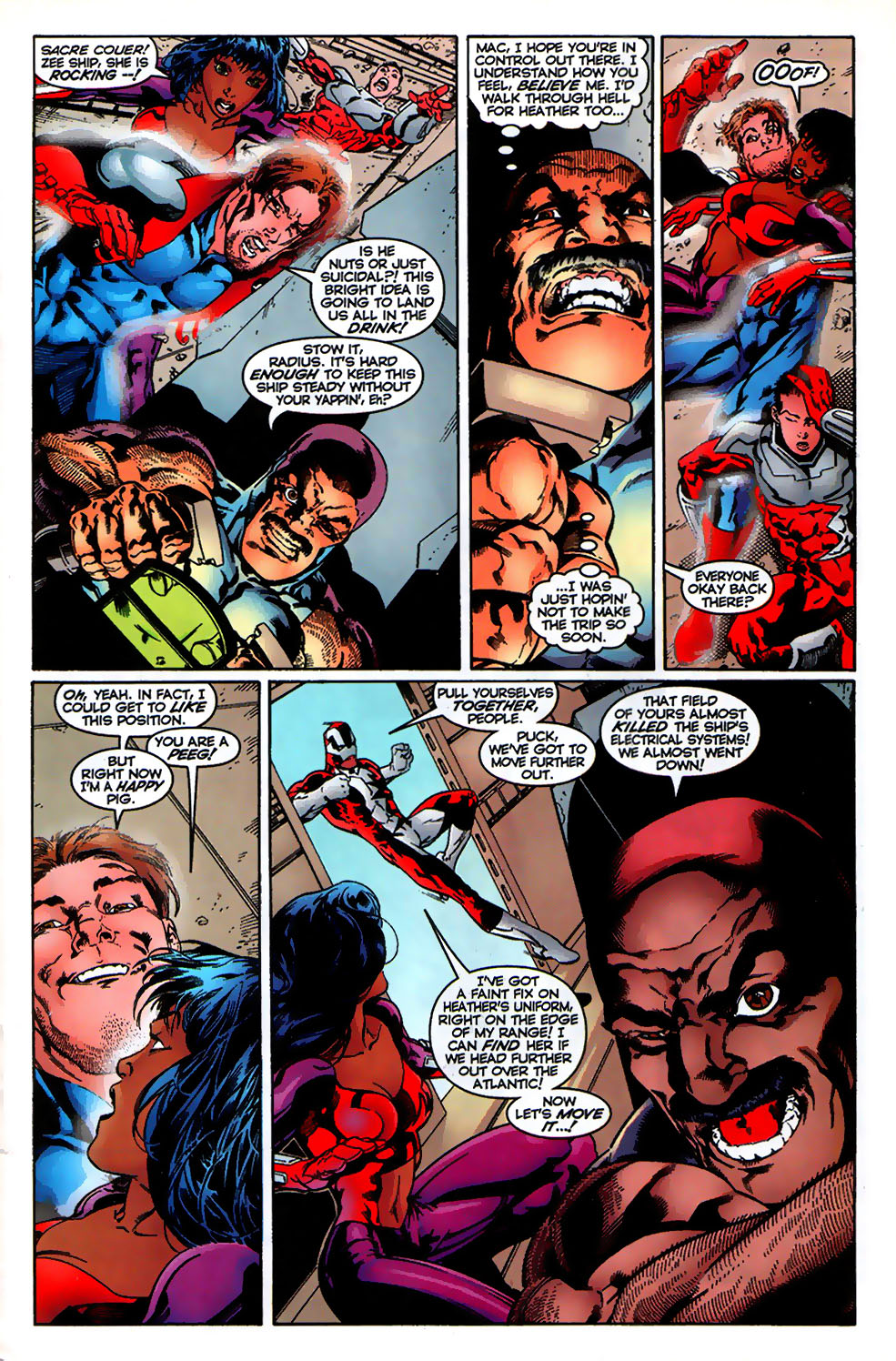 Read online Alpha Flight (1997) comic -  Issue # _Annual - 15
