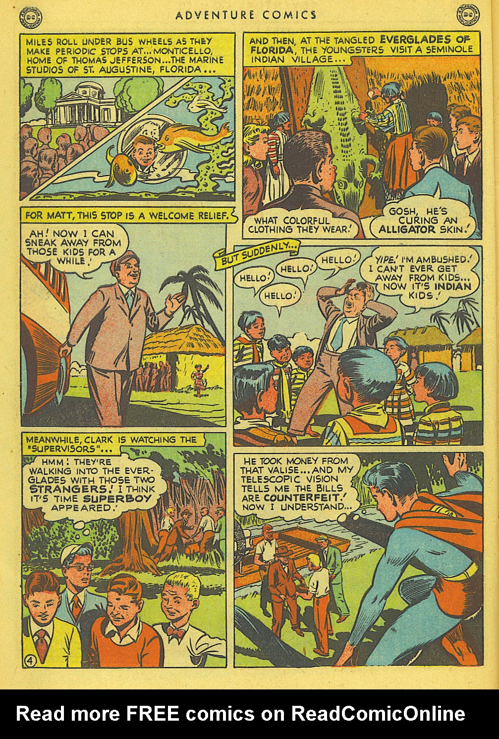 Read online Adventure Comics (1938) comic -  Issue #138 - 6