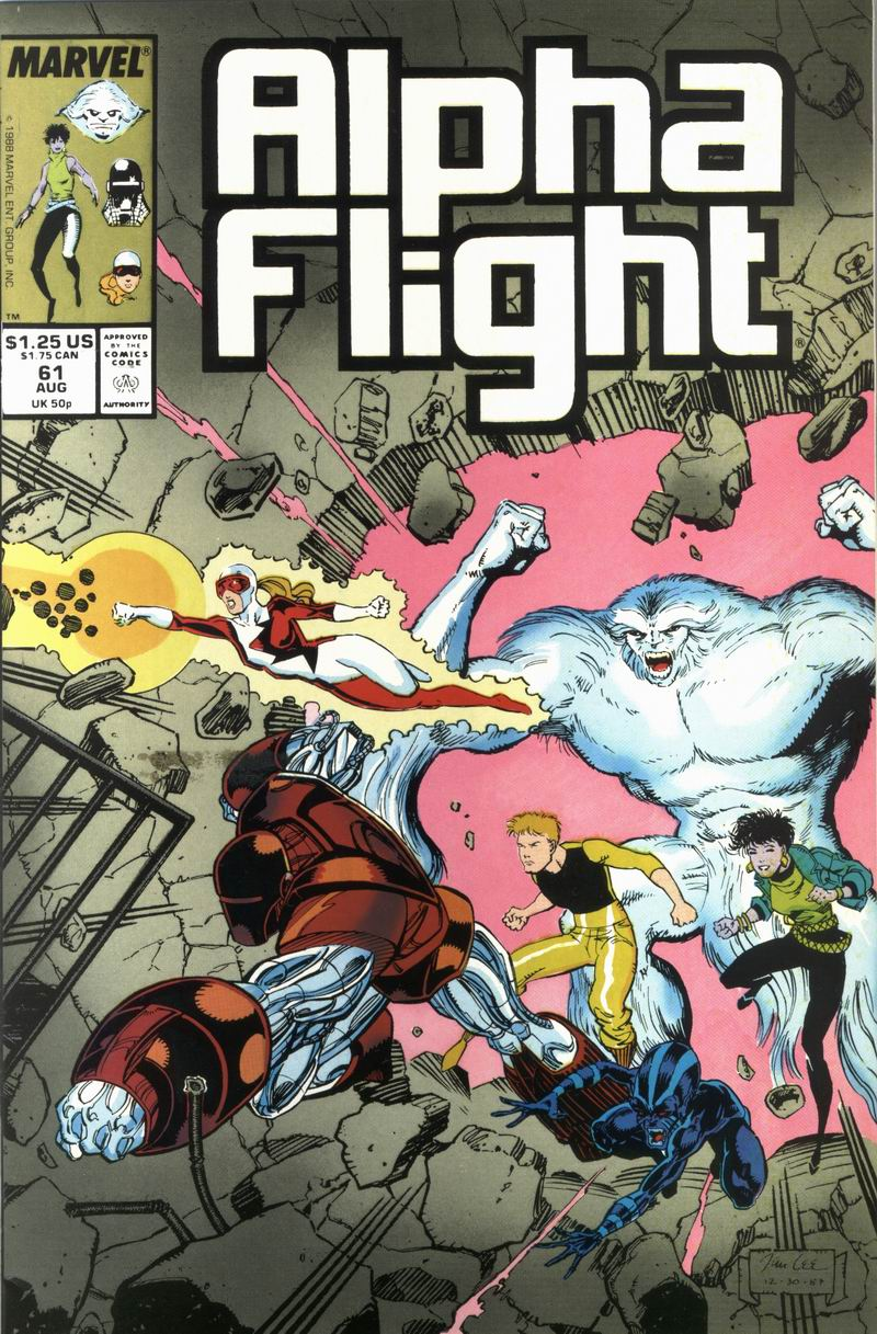 Alpha Flight (1983) 61 Page 1