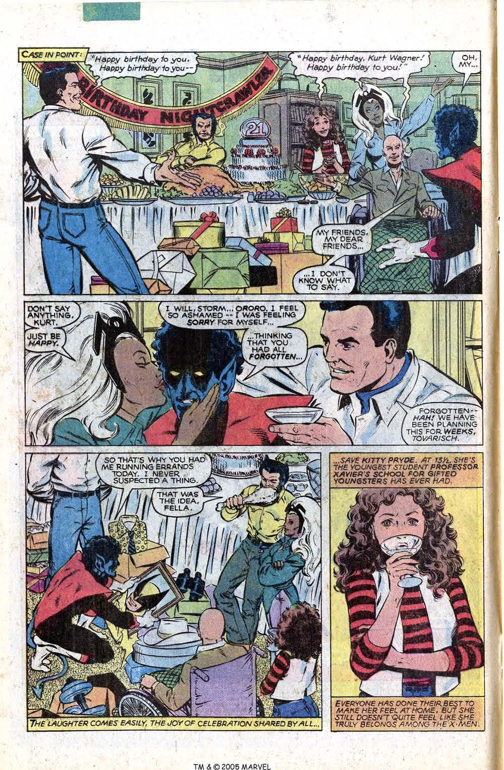 Read online Uncanny X-Men (1963) comic -  Issue # _Annual 4 - 4