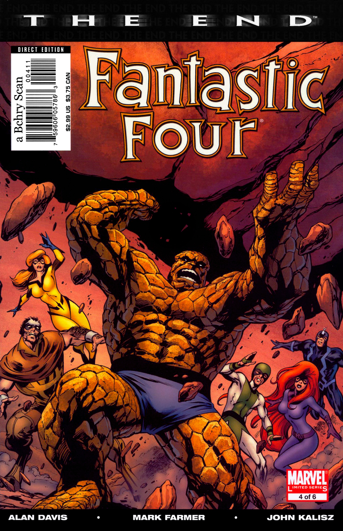 Fantastic Four: The End 4 Page 1