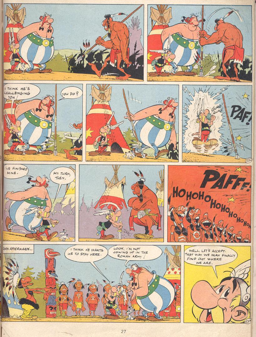 Read online Asterix comic -  Issue #22 - 24