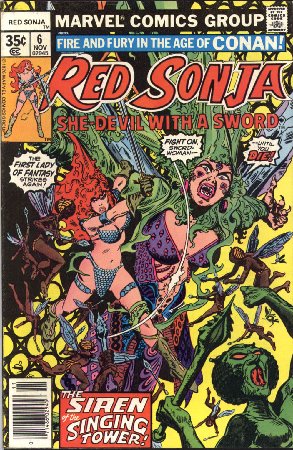 Red Sonja (1977) issue 6 - Page 1