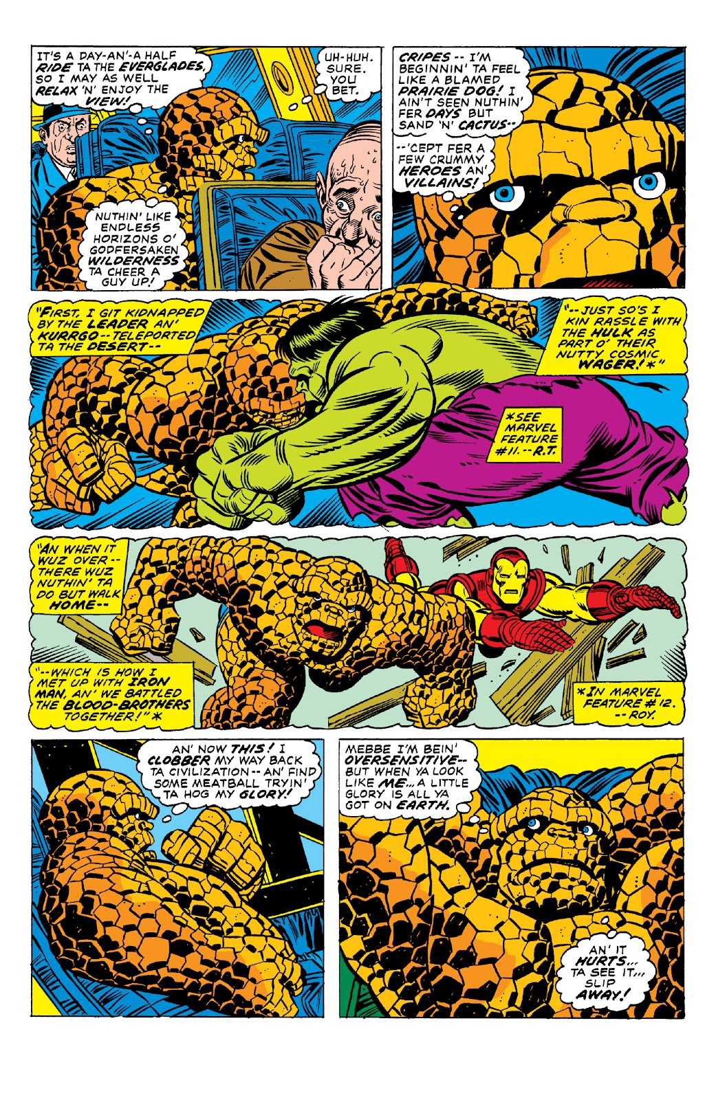 Read online Marvel Two-In-One Epic Collection: Cry Monster comic -  Issue # TPB (Part 1) - 48