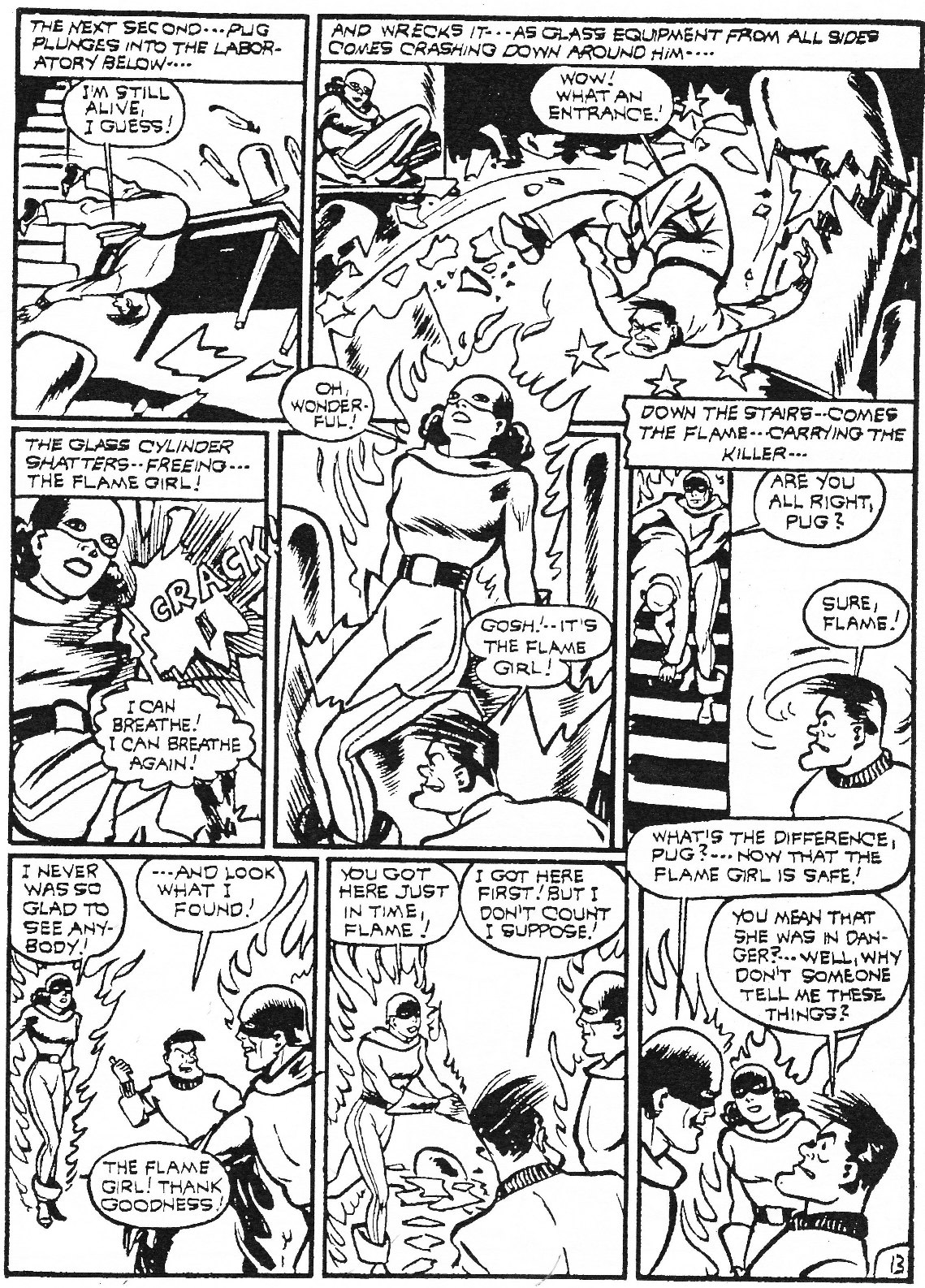 Read online Men of Mystery Comics comic -  Issue #74 - 35