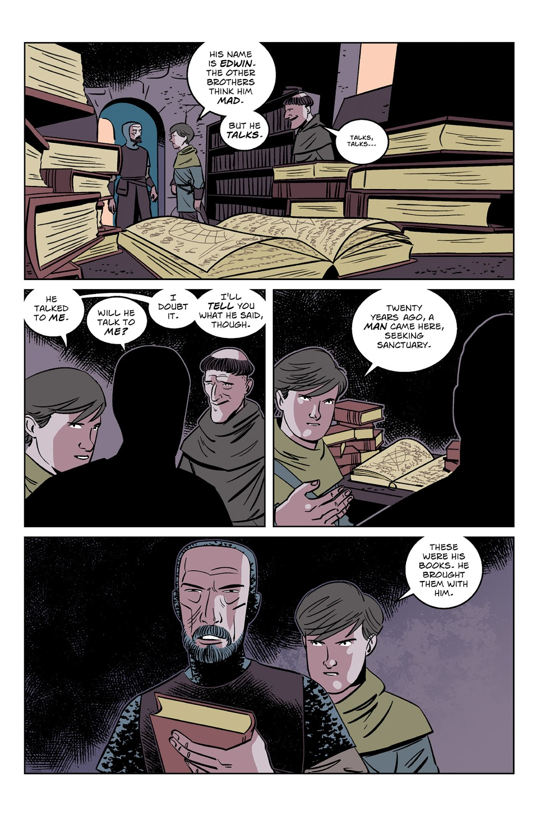 Read online Dark Ages comic -  Issue #2 - 21