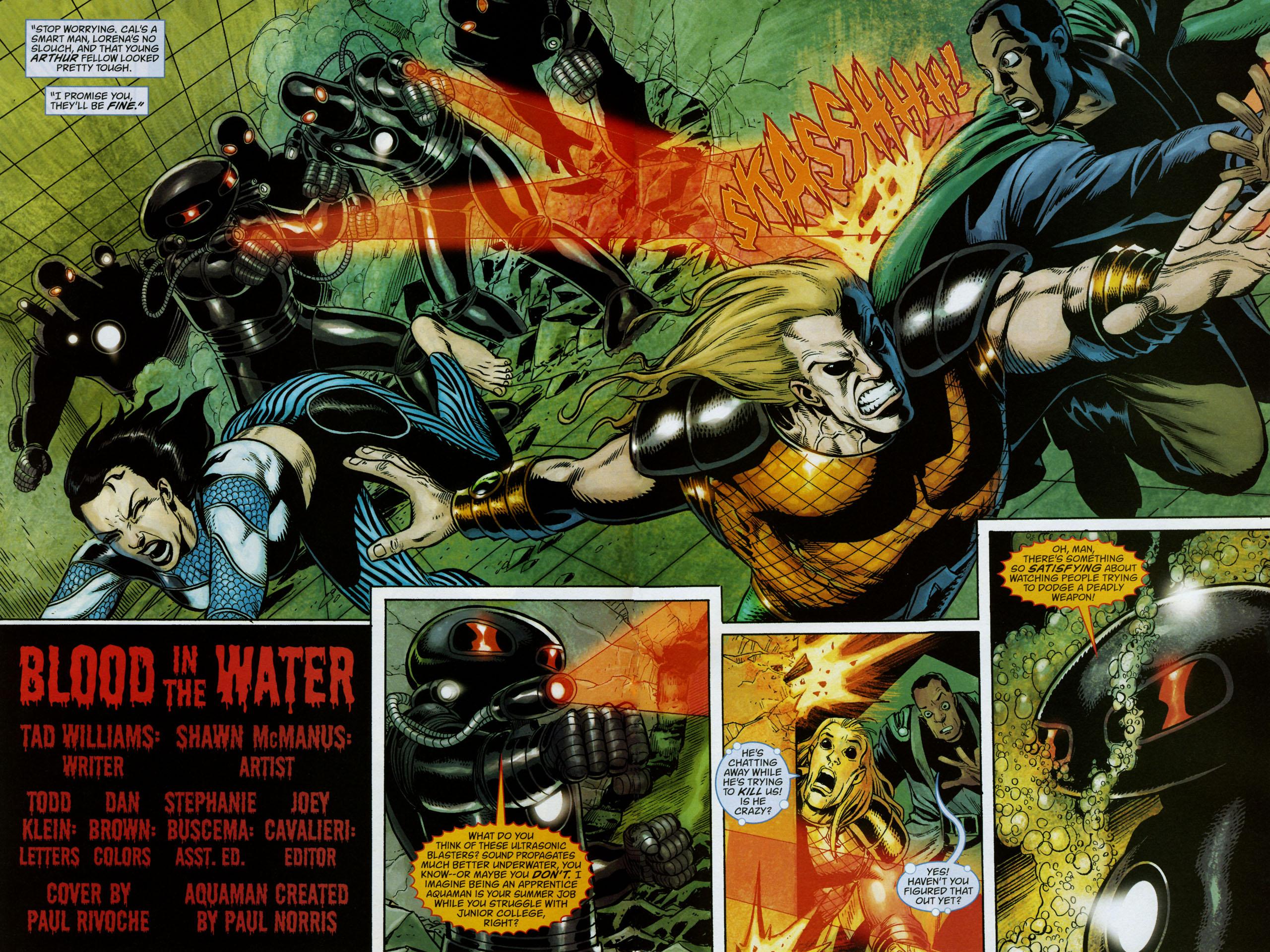 Read online Aquaman: Sword of Atlantis comic -  Issue #53 - 3