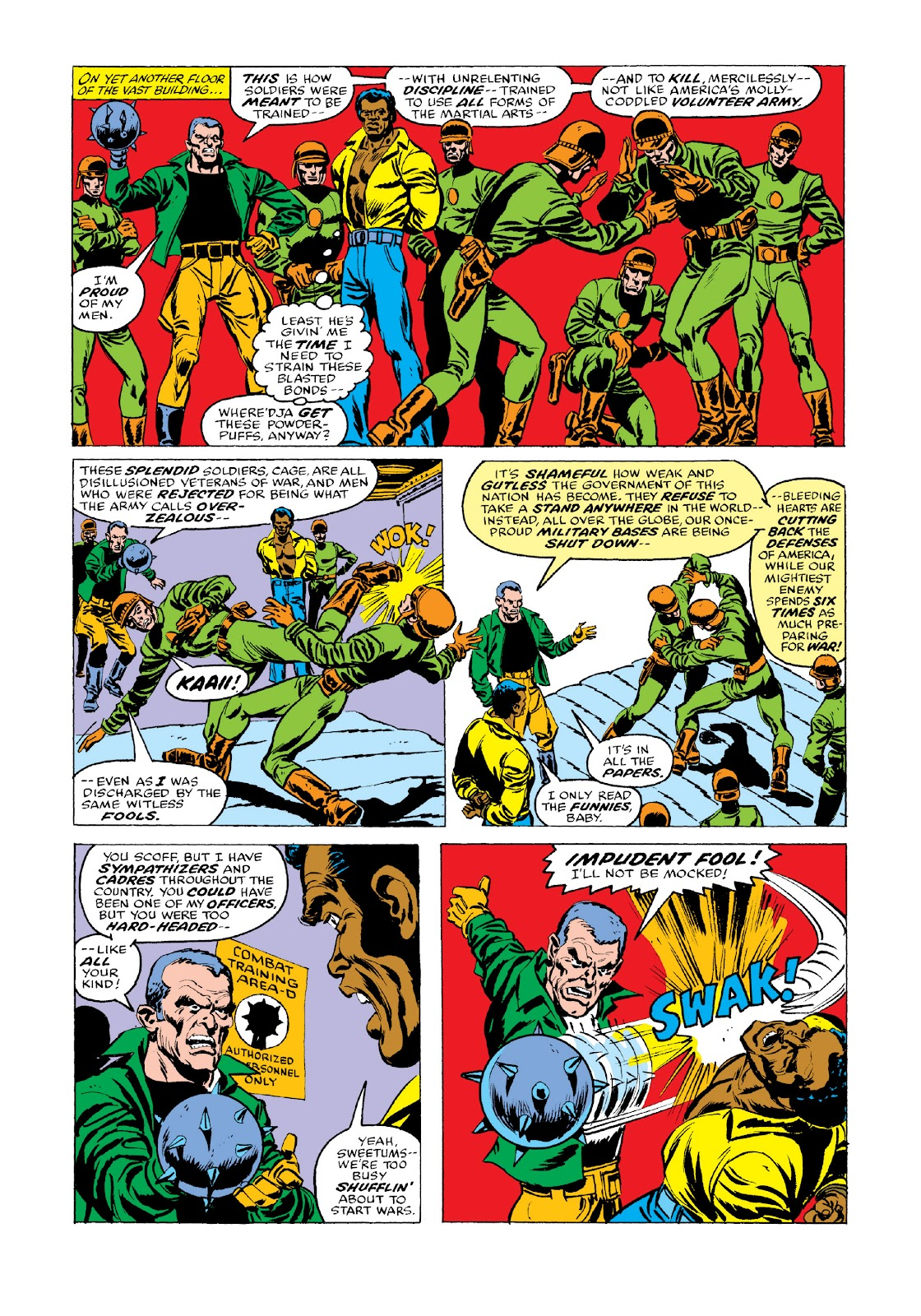 Read online Marvel Masterworks: Luke Cage, Power Man comic -  Issue # TPB 3 (Part 3) - 48