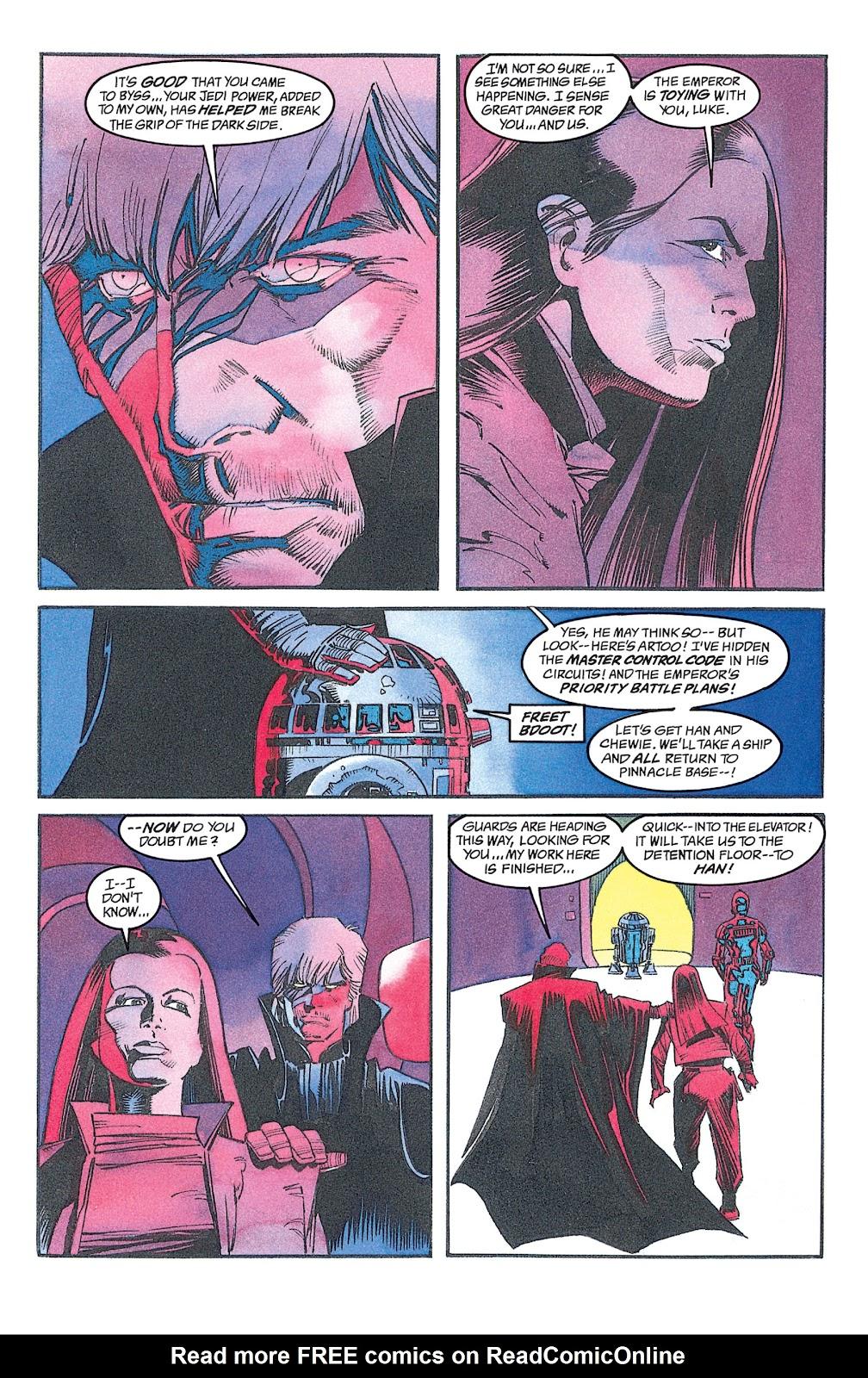 Read online Star Wars: Dark Empire Trilogy comic -  Issue # TPB (Part 2) - 18