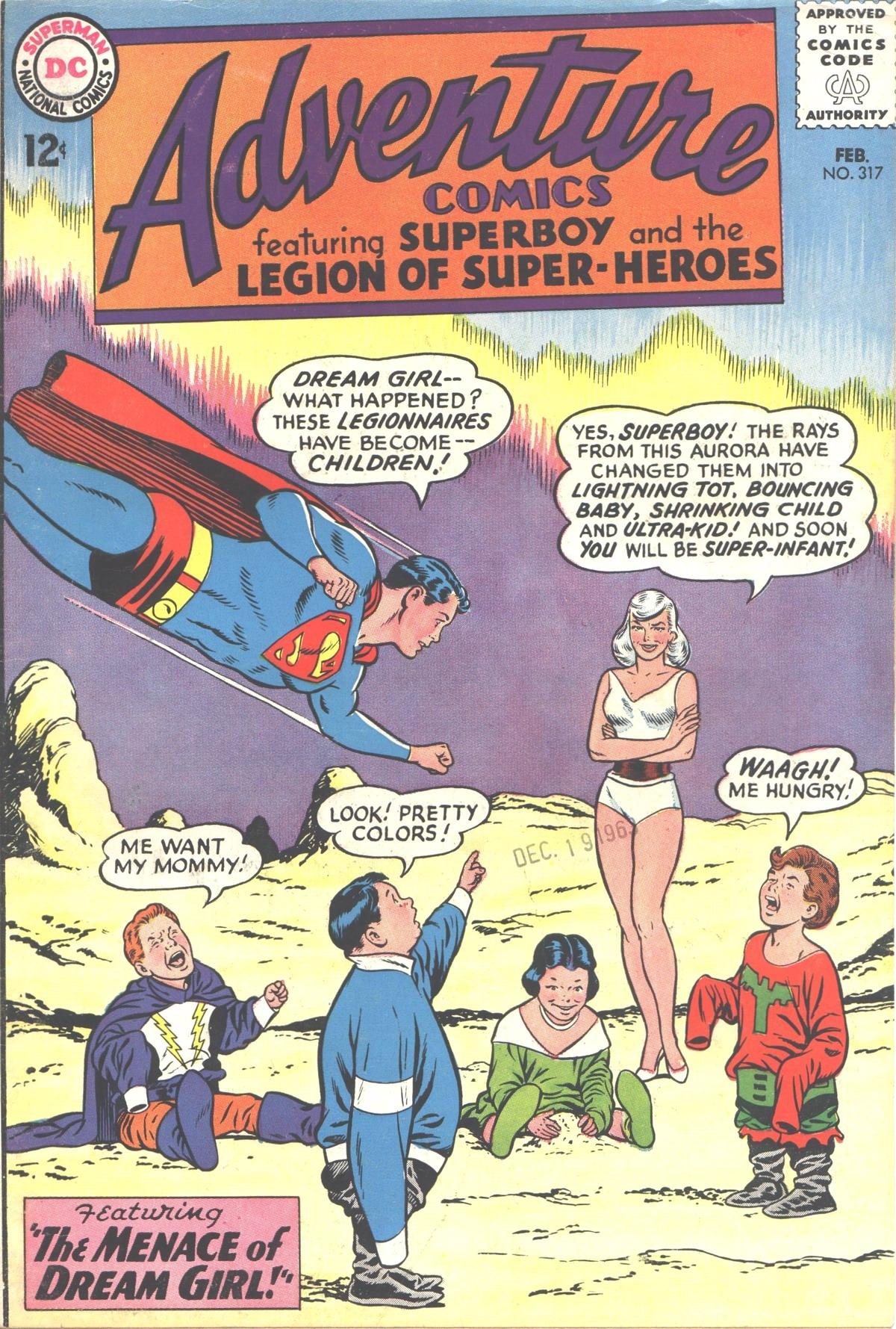 Read online Adventure Comics (1938) comic -  Issue #317 - 1