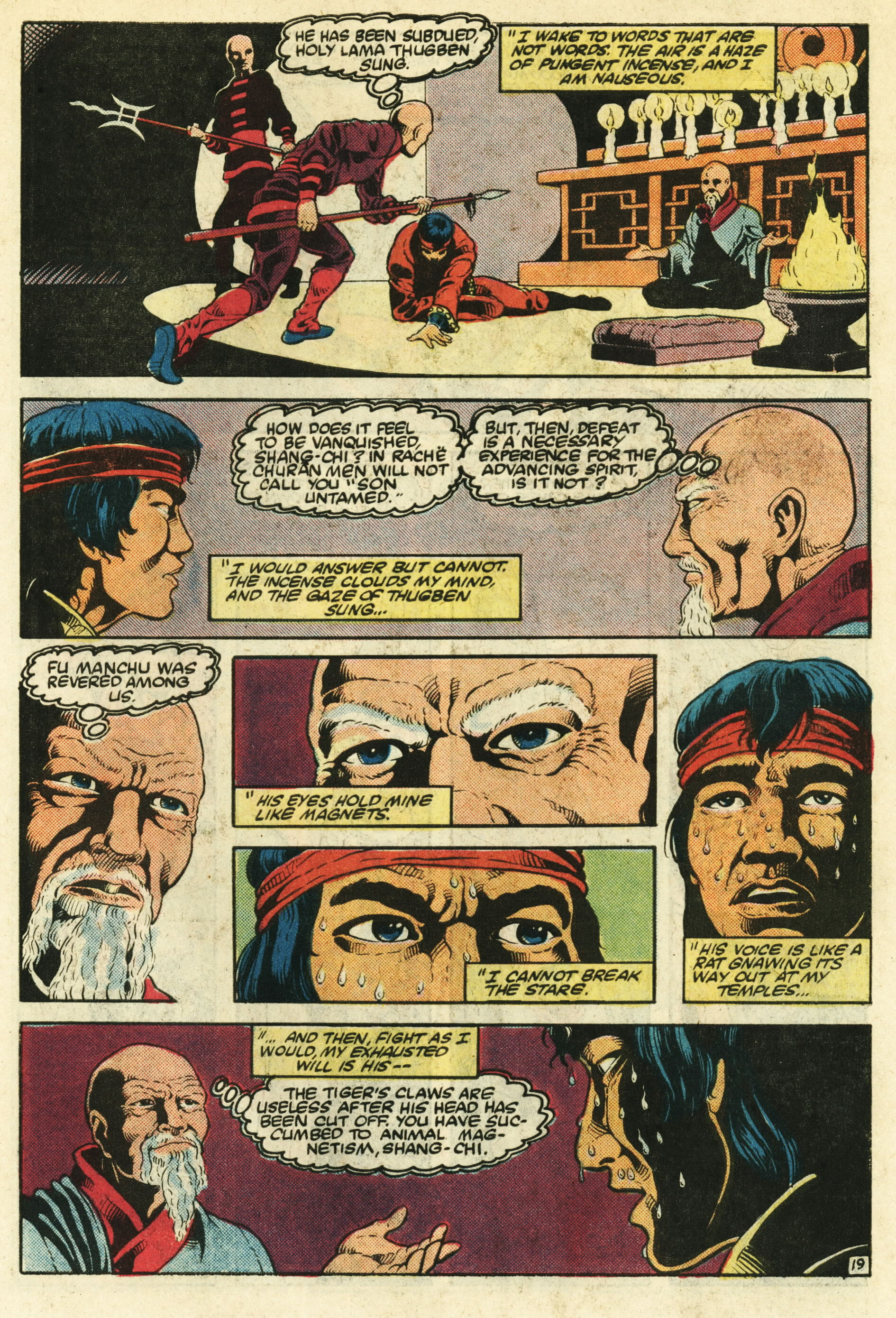 Read online Master of Kung Fu (1974) comic -  Issue #124 - 20