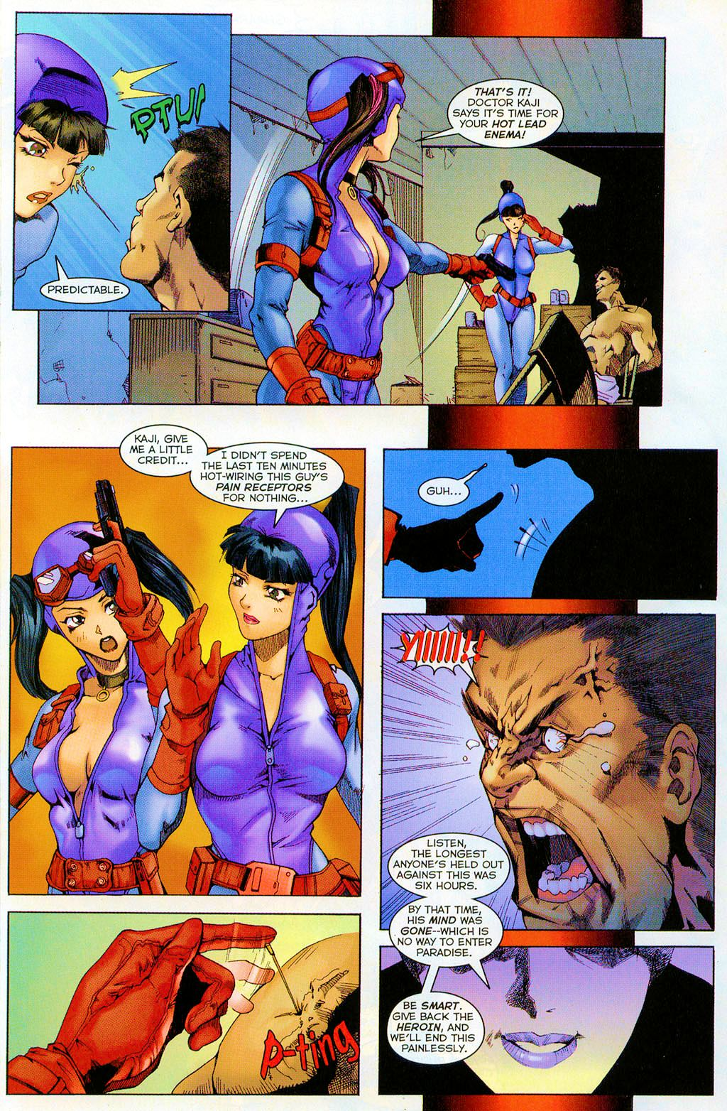 Read online Shi: The Series comic -  Issue #7 - 11