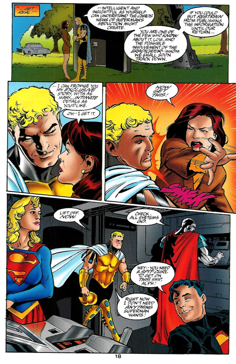 Read online Adventures of Superman (1987) comic -  Issue #529 - 19