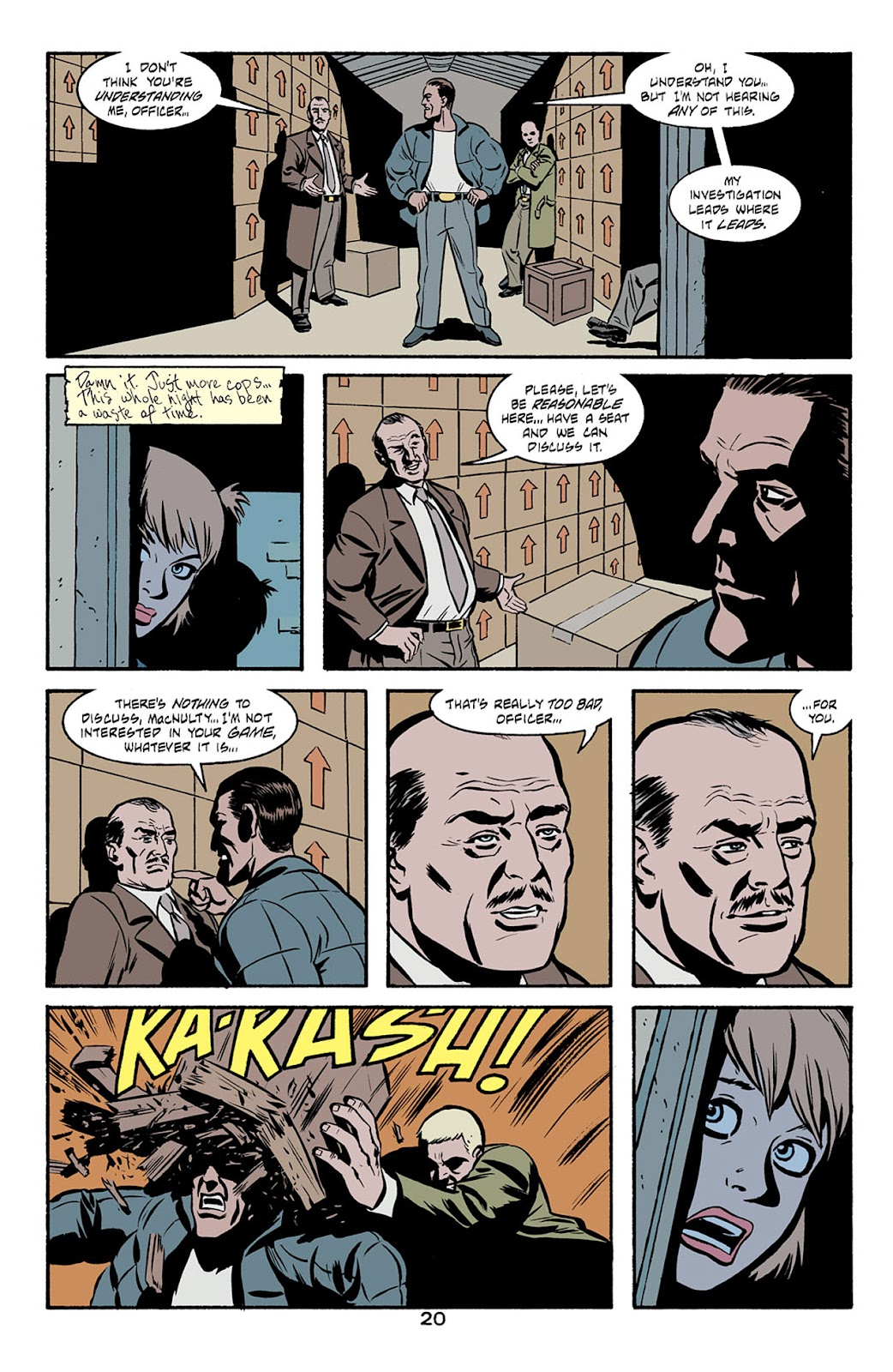 Catwoman (2002) Issue #6 #6 - English 21
