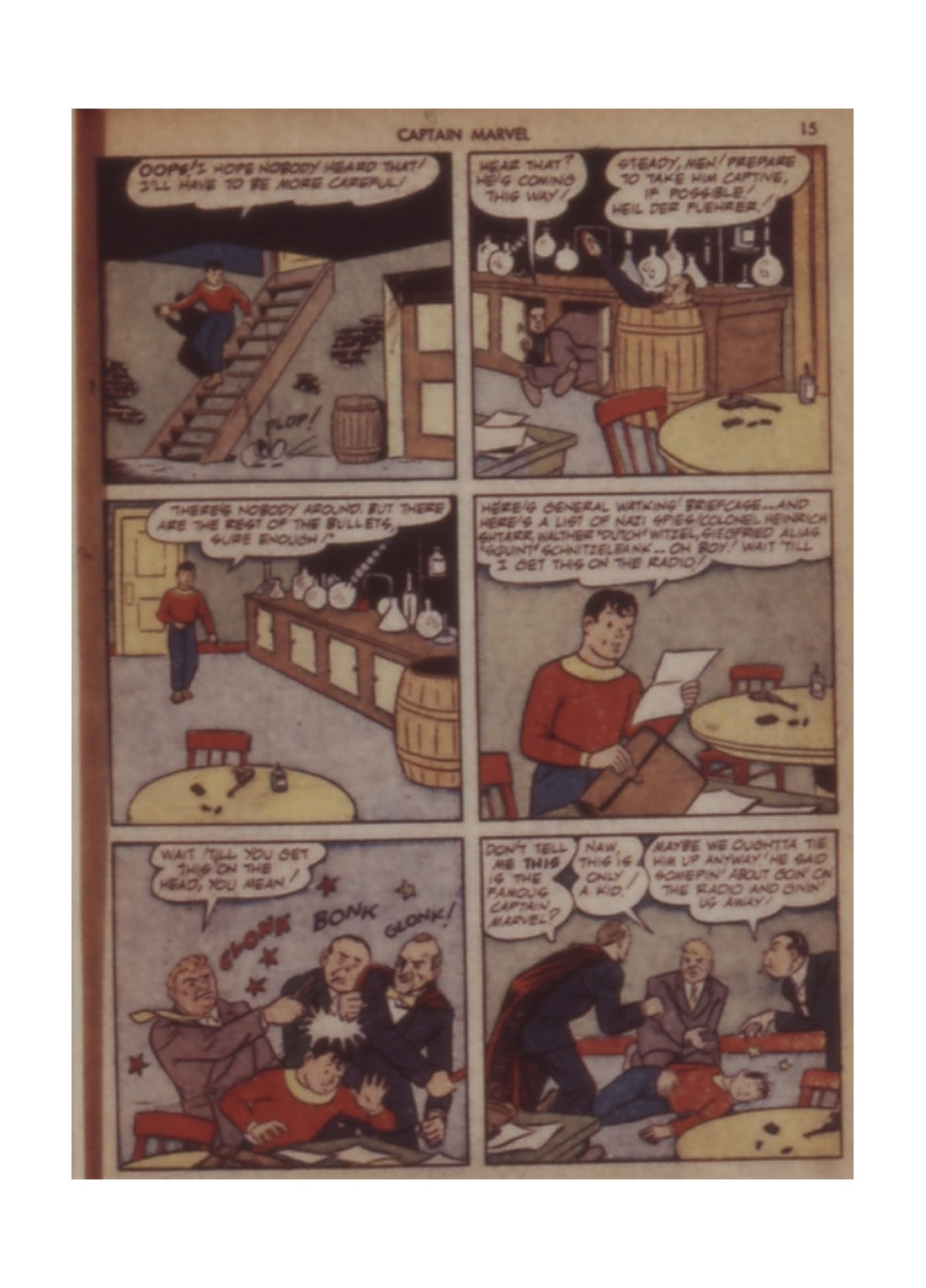 Captain Marvel Adventures issue 11 - Page 15