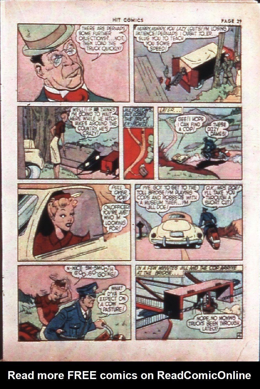 Read online Hit Comics comic -  Issue #4 - 31