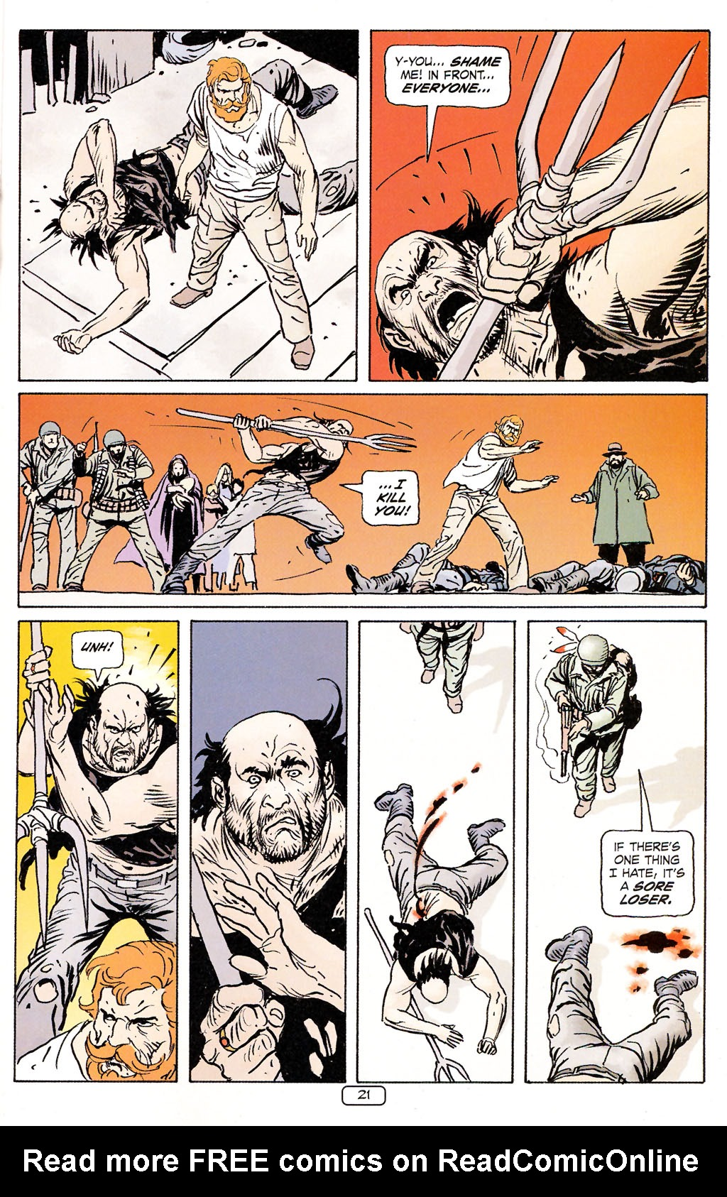 Read online Sgt. Rock: The Prophecy comic -  Issue #5 - 21
