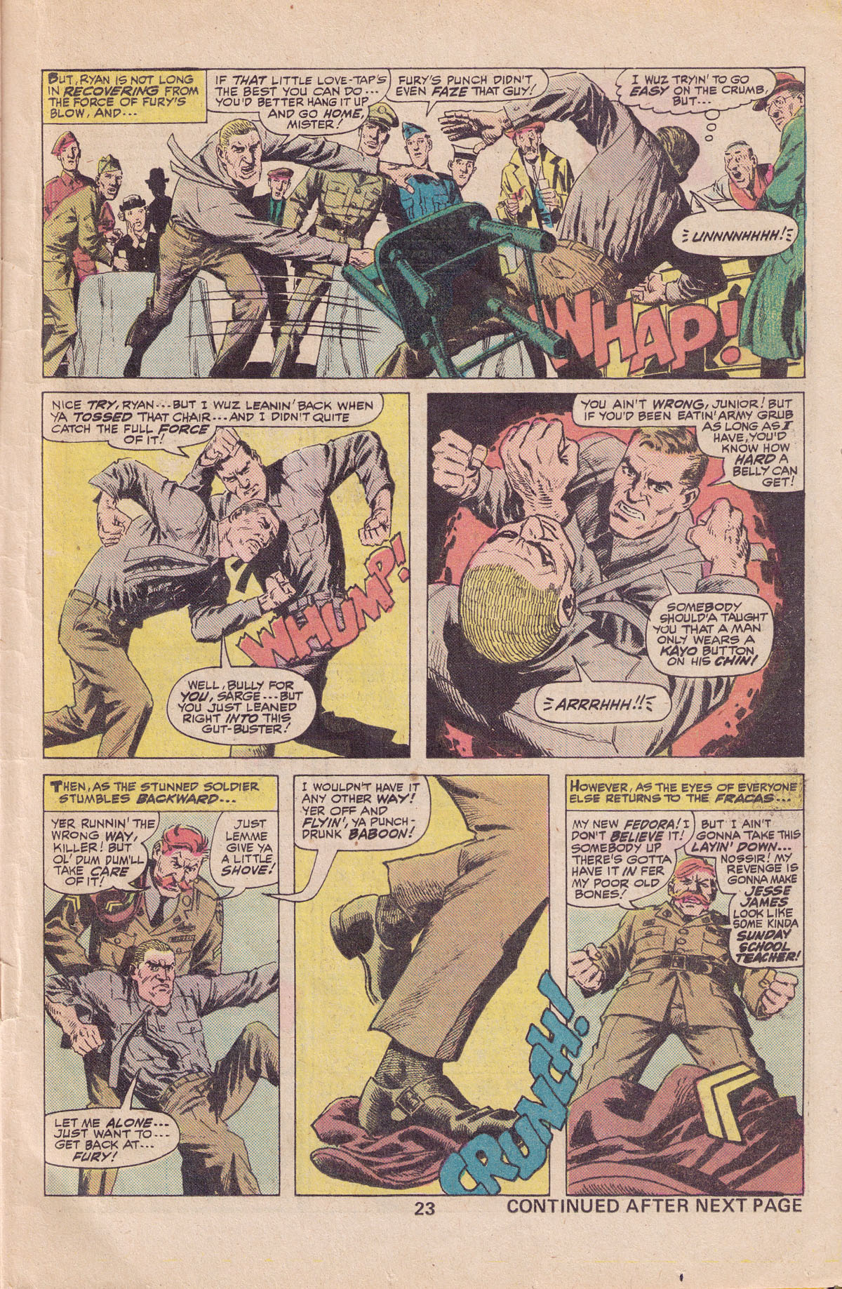 Read online Sgt. Fury comic -  Issue #140 - 25