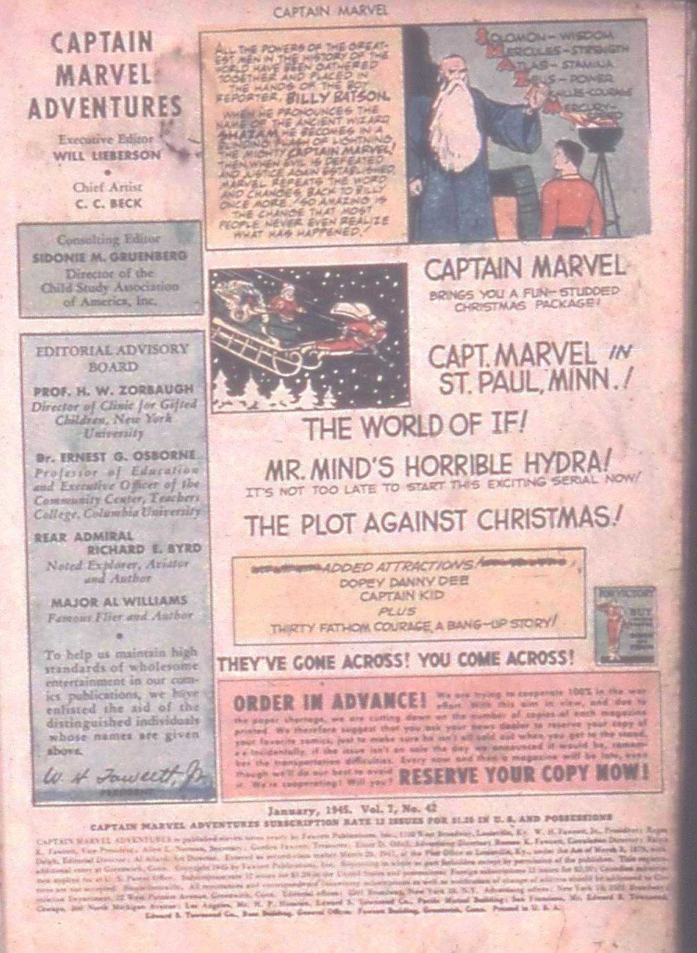 Captain Marvel Adventures issue 42 - Page 3