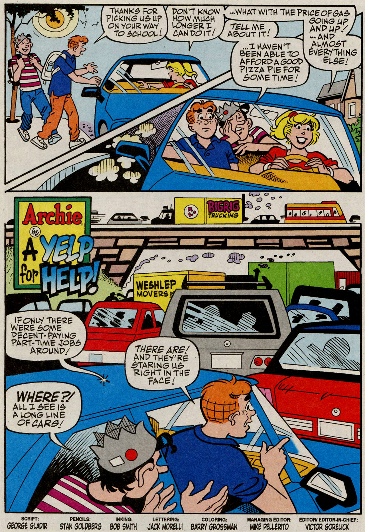 Read online Archie (1960) comic -  Issue #585 - 2
