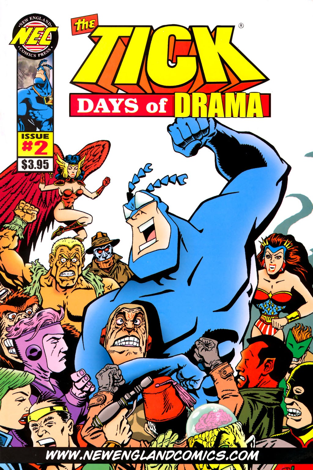Read online The Tick: Days of Drama comic -  Issue #2 - 1