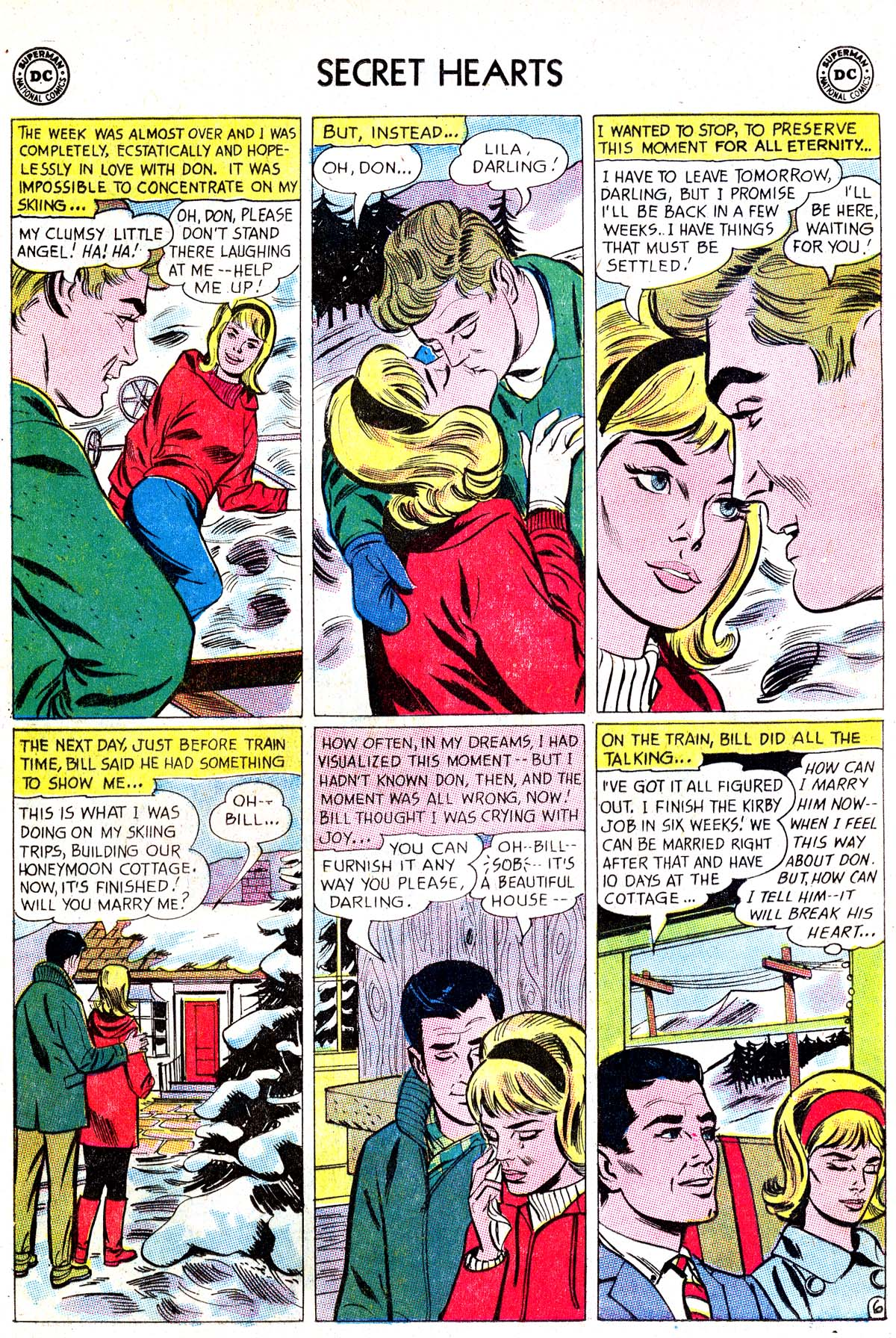Read online Secret Hearts comic -  Issue #87 - 8