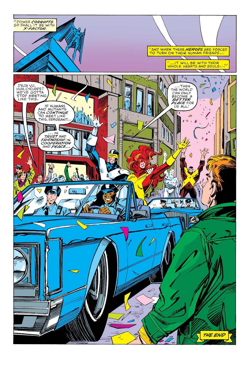 Read online X-Men Milestones: Fall of the Mutants comic -  Issue # TPB (Part 3) - 68
