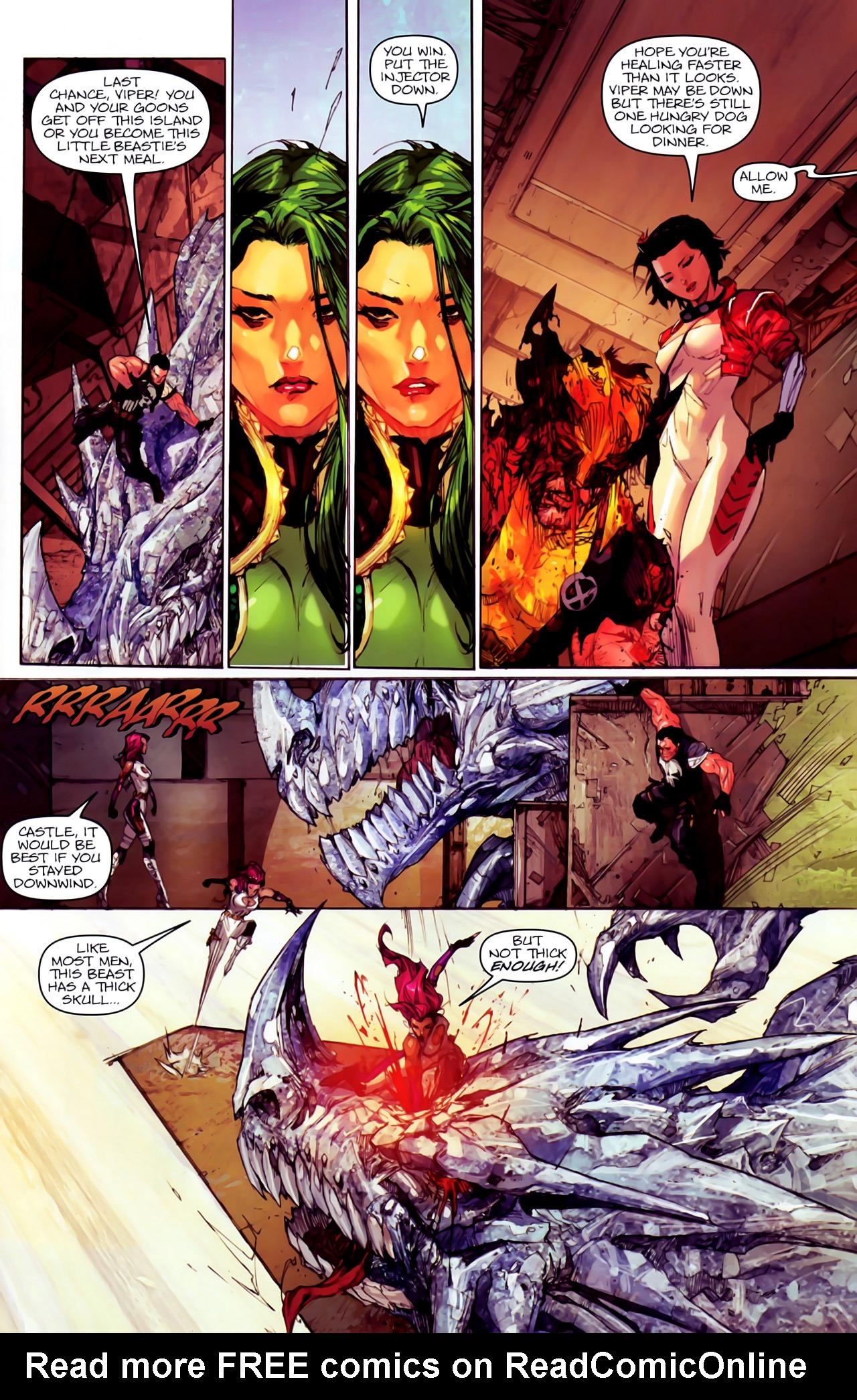 Read online Astonishing Tales (2009) comic -  Issue #6 - 7