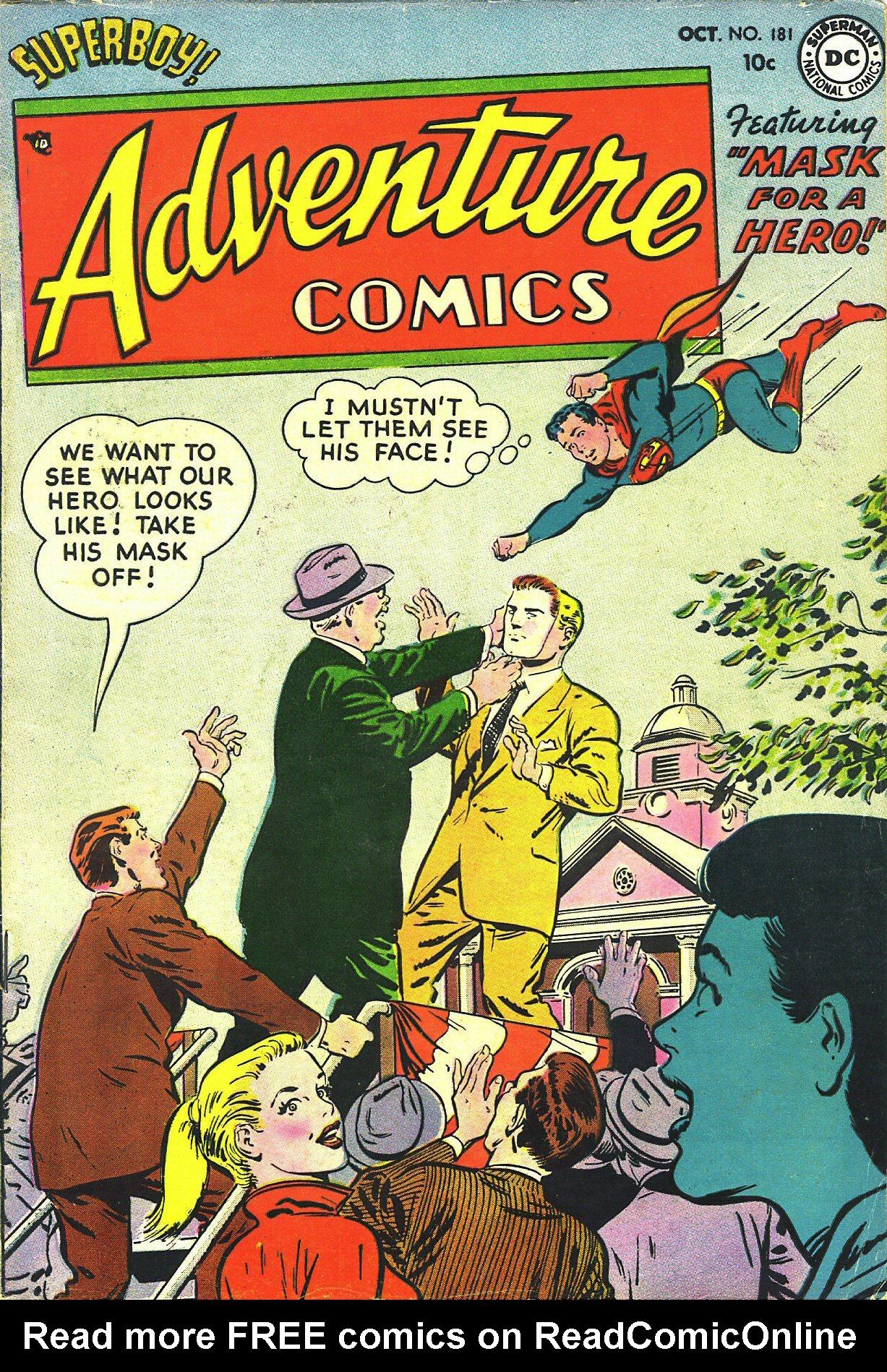 Read online Adventure Comics (1938) comic -  Issue #181 - 1