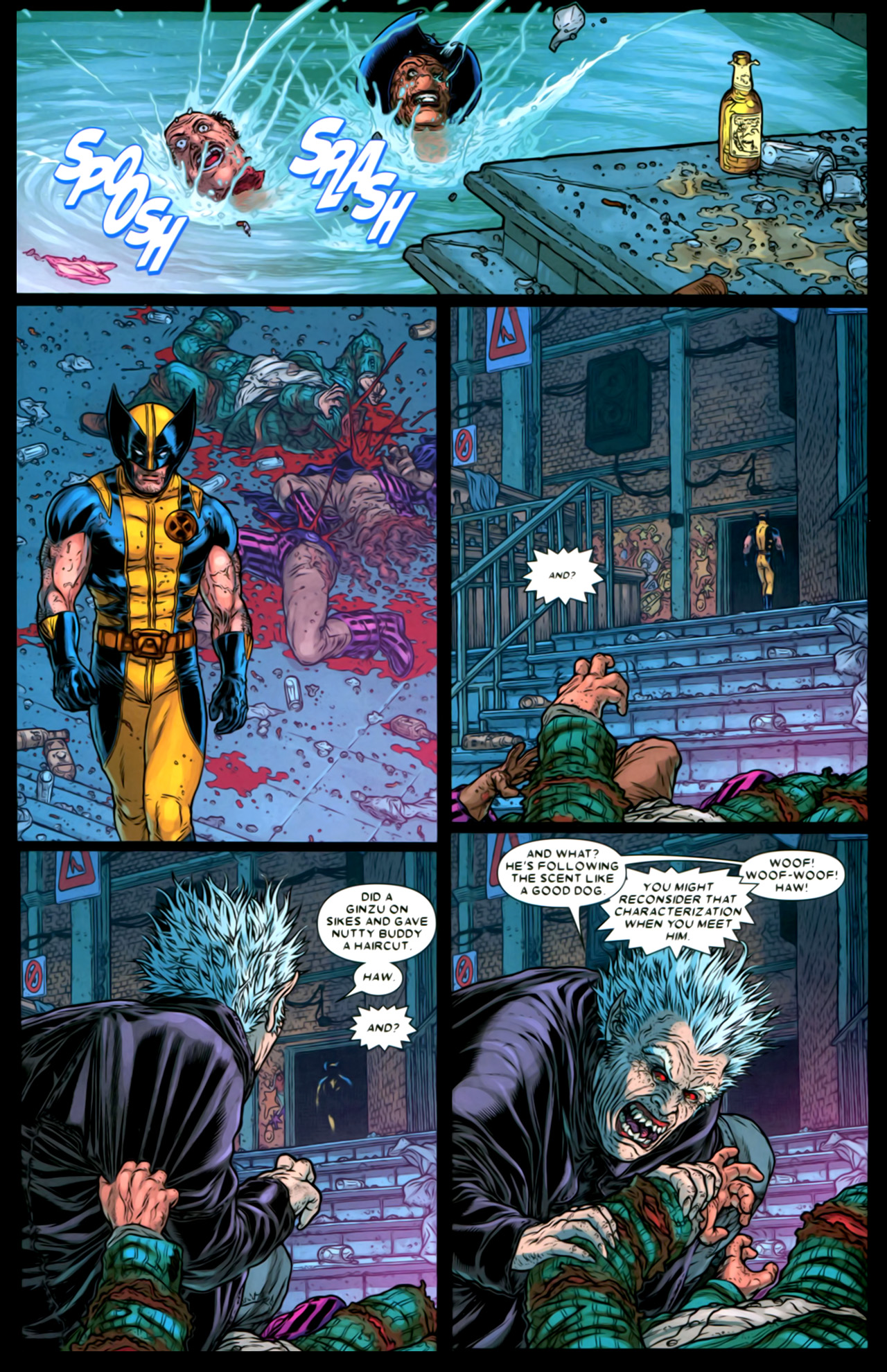 Read online Wolverine: The Best There Is comic -  Issue #2 - 16
