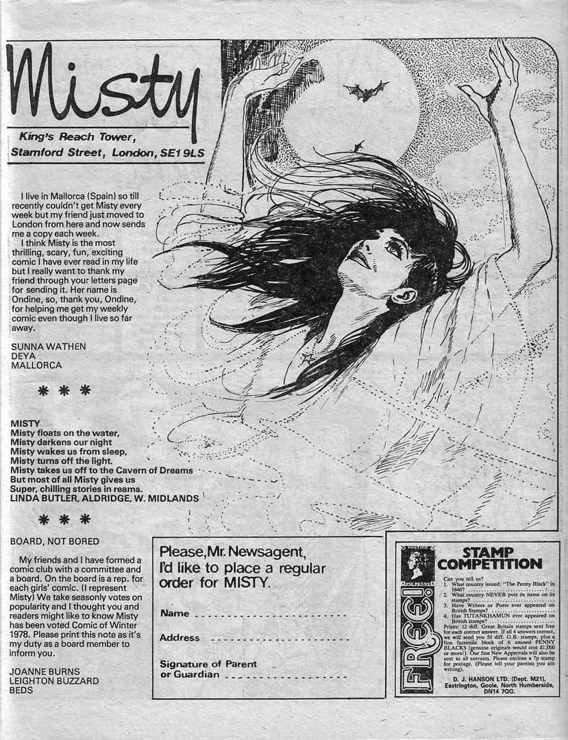 Read online Misty comic -  Issue #59 - 27
