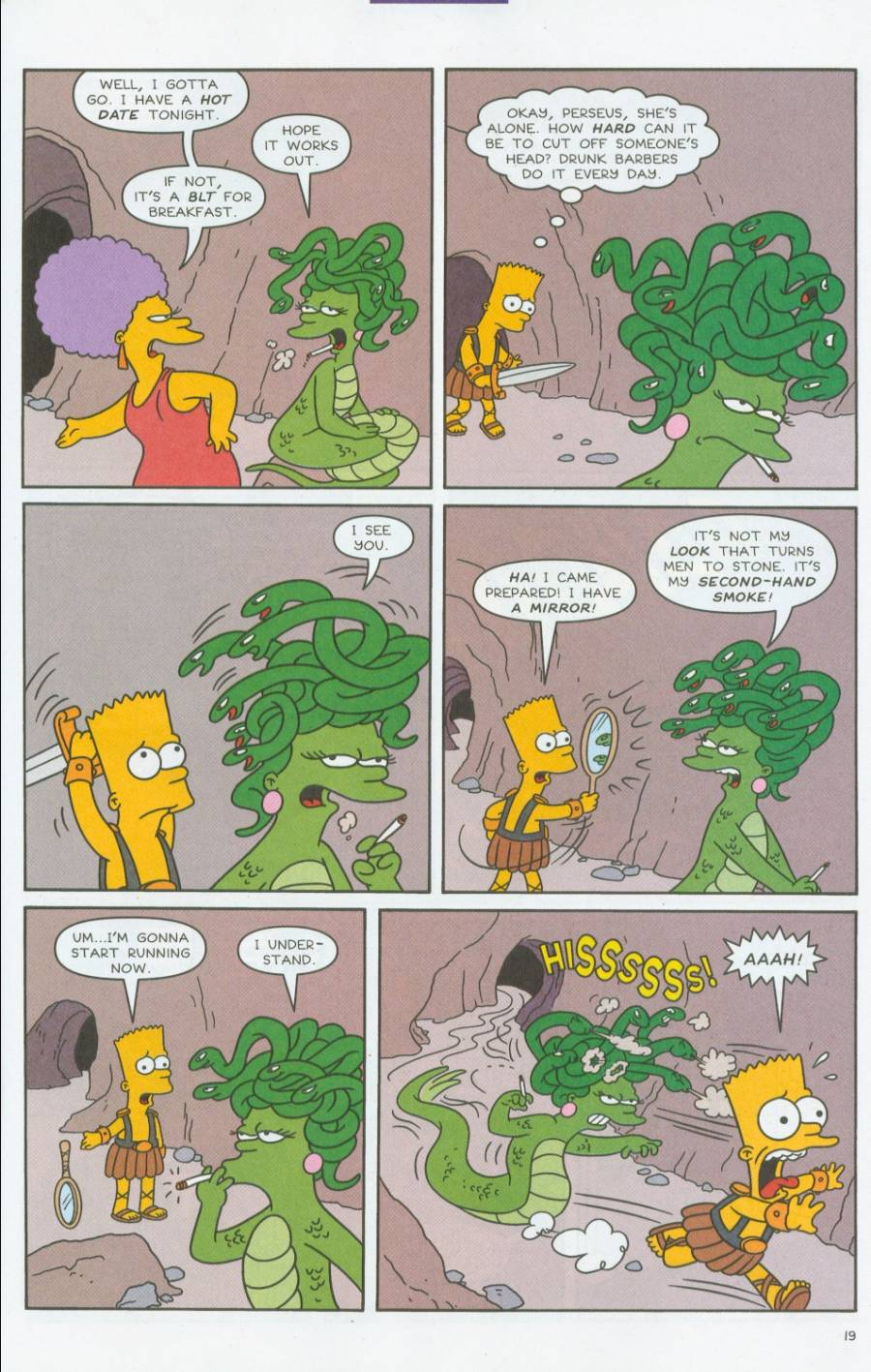 Read online Simpsons Comics comic -  Issue #70 - 20