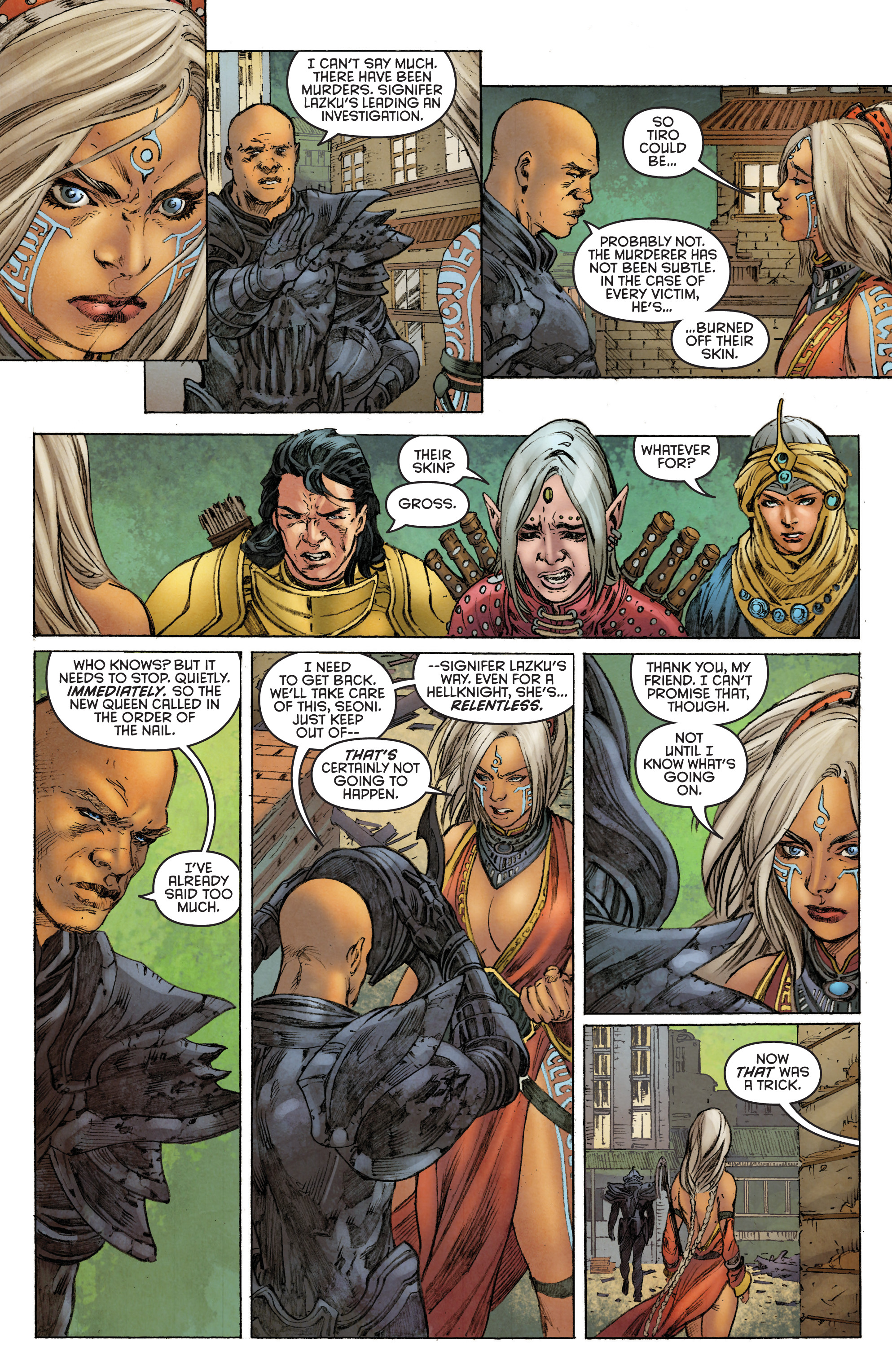 Read online Pathfinder: Runescars comic -  Issue #1 - 11