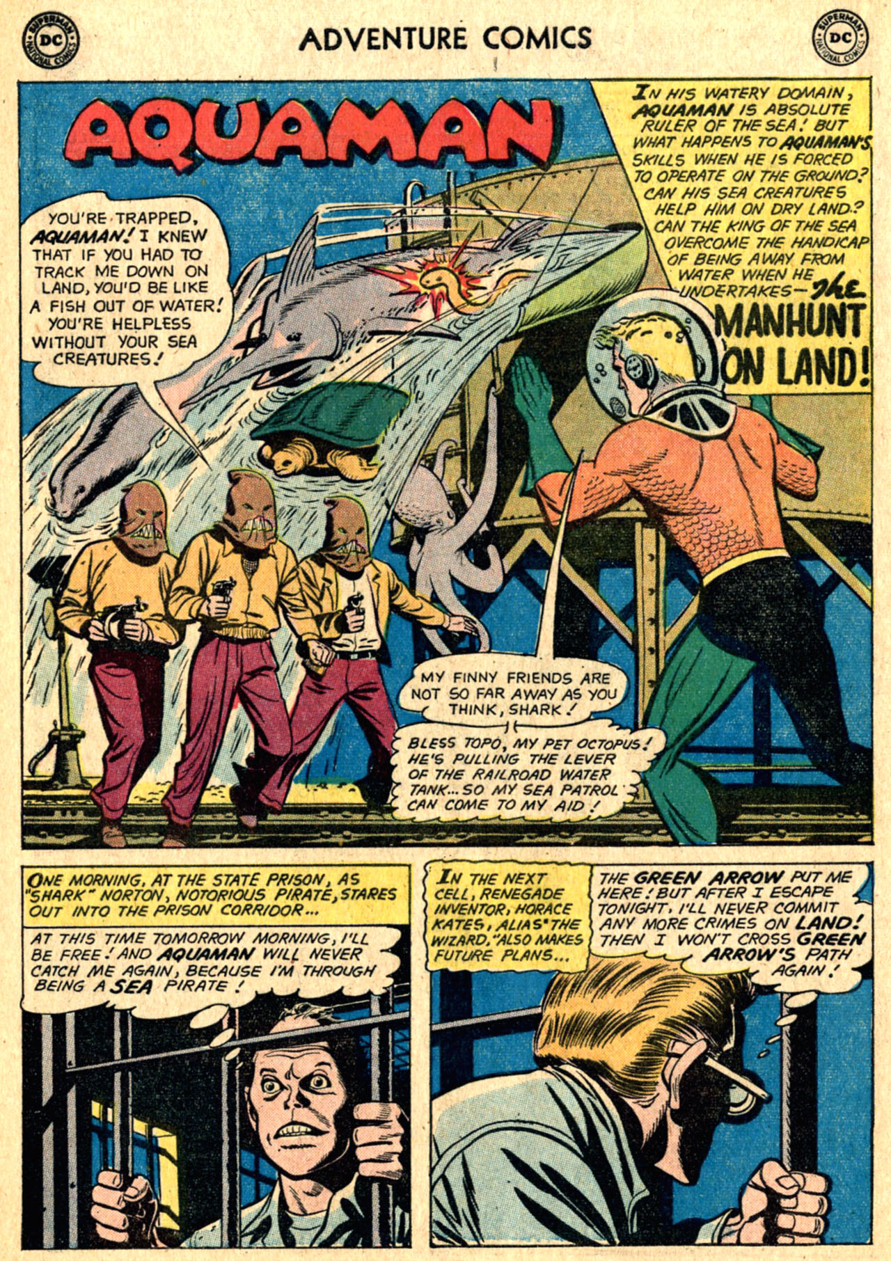 Read online Adventure Comics (1938) comic -  Issue #267 - 16