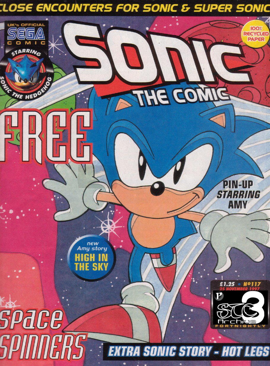 Read online Sonic the Comic comic -  Issue #117 - 1