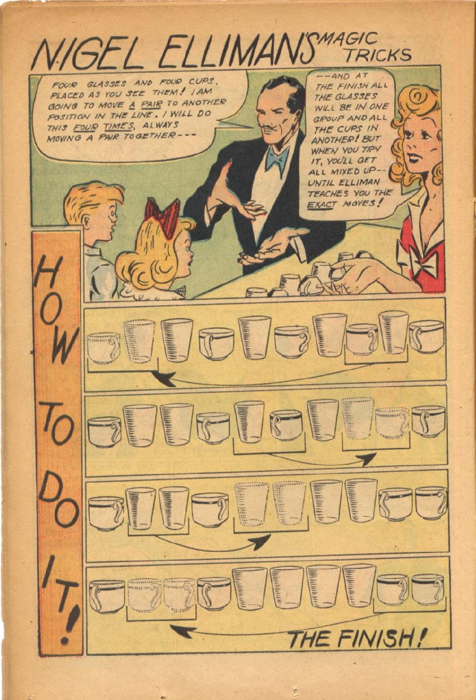 Read online Super-Magician Comics comic -  Issue #54 - 23