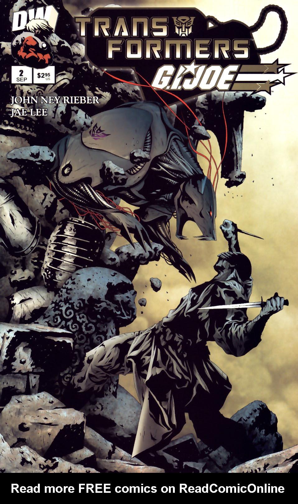 Read online Transformers/G.I. Joe comic -  Issue #2 - 1