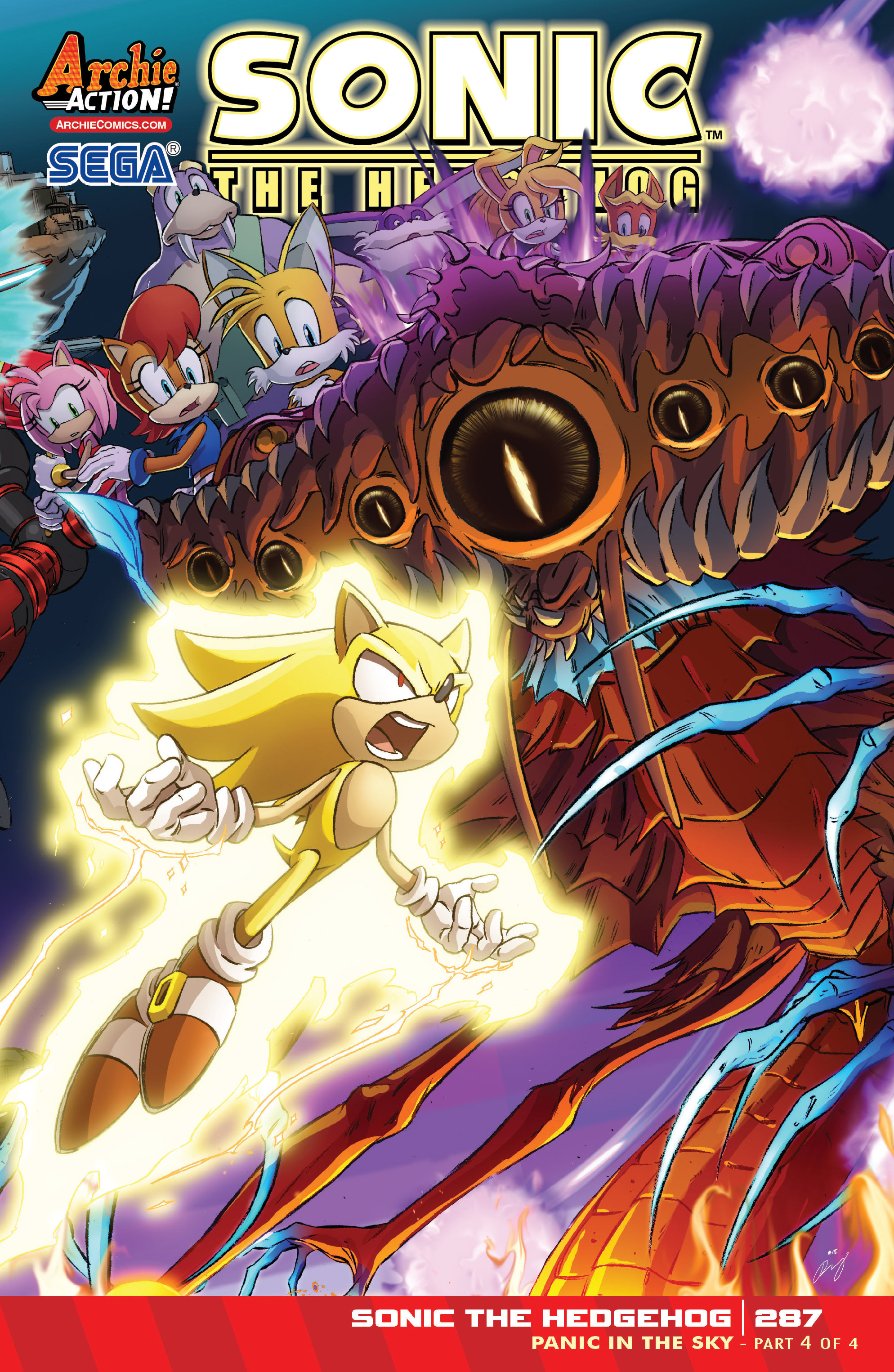 Read online Sonic The Hedgehog comic -  Issue #287 - 1