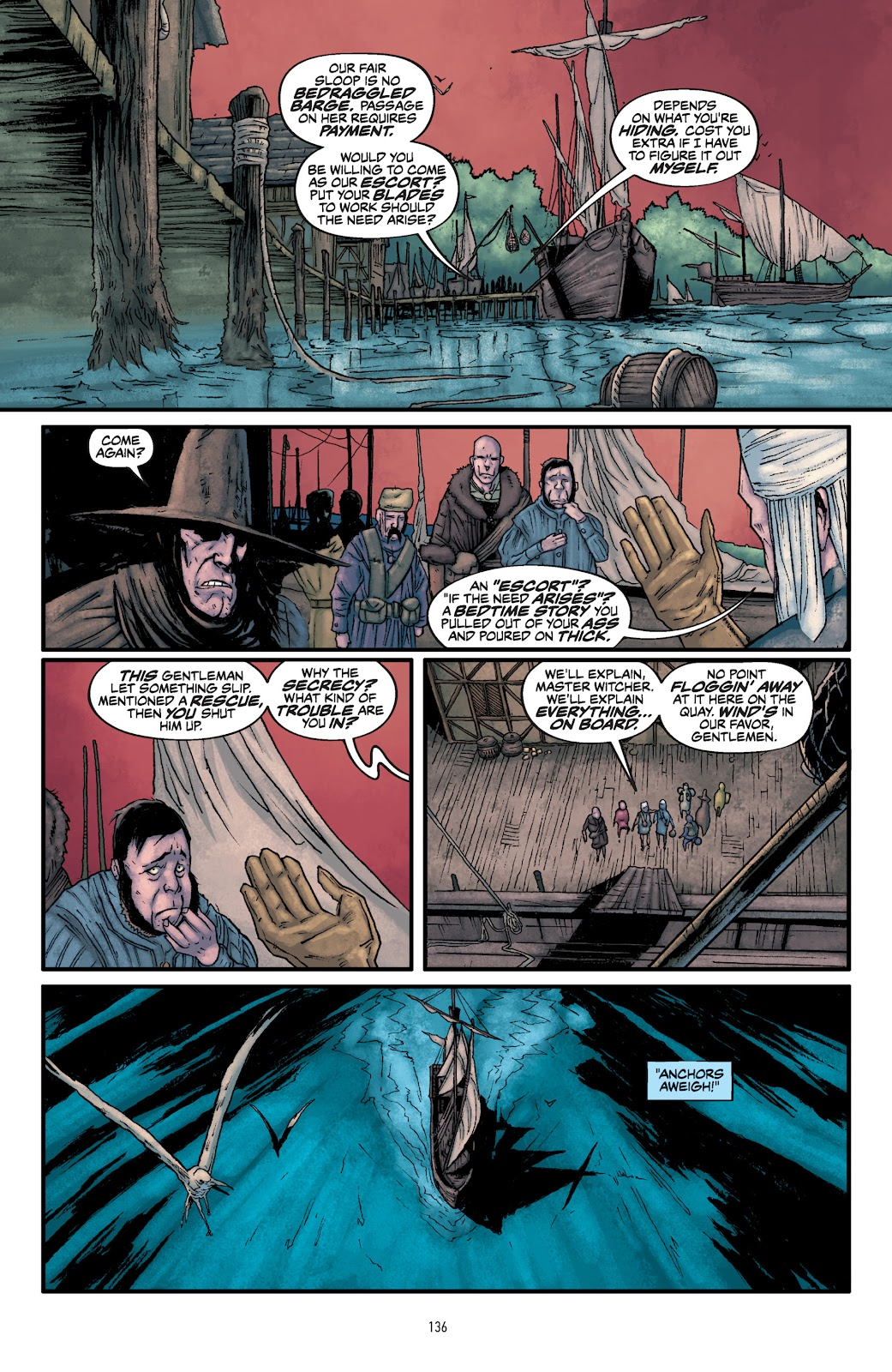 Read online The Witcher Omnibus comic -  Issue # TPB (Part 2) - 38