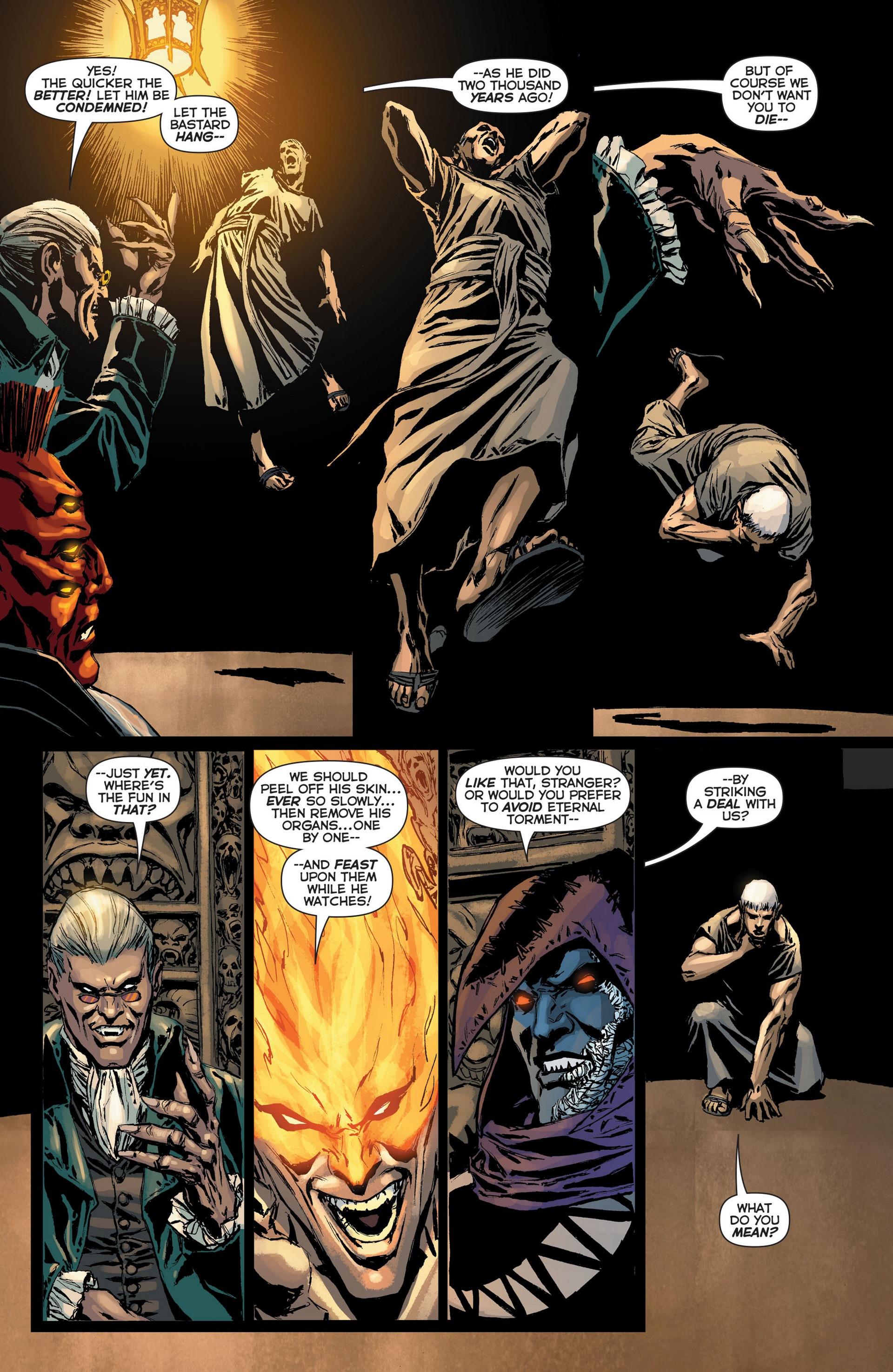 Read online Trinity of Sin: The Phantom Stranger: Futures End comic -  Issue # Full - 11