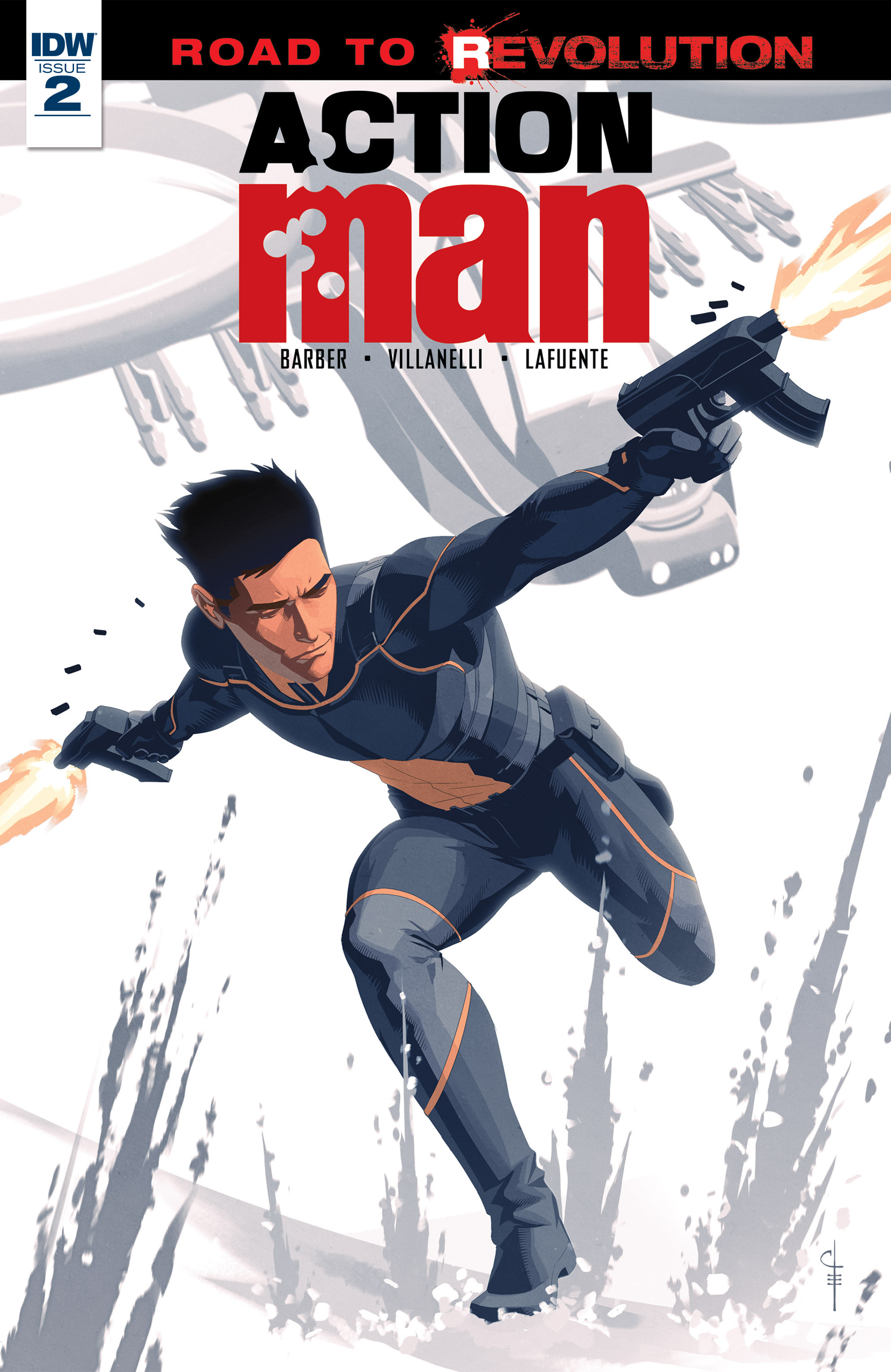 Read online Action Man comic -  Issue #2 - 1